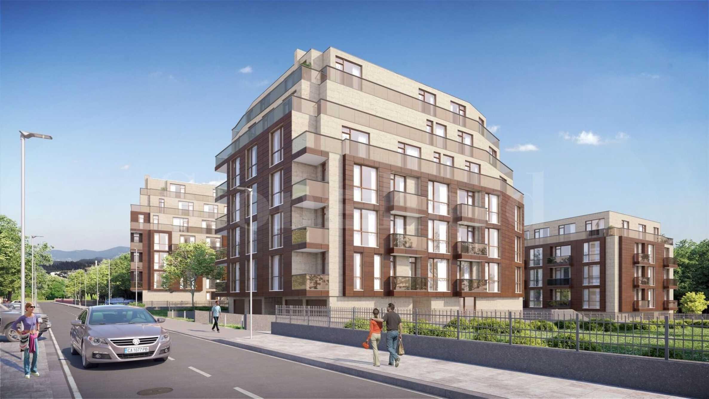 Нови апартаменти в луксозен комплекс в комуникативен квартал1 - Stonehard