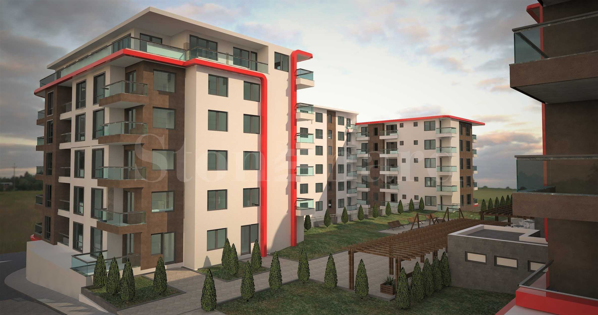 Apartments in new blocks part of operational complex near park Kartala1 - Stonehard