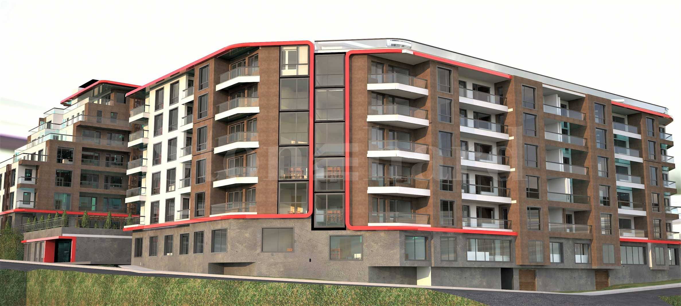 Apartments in new blocks part of operational complex near park Kartala2 - Stonehard
