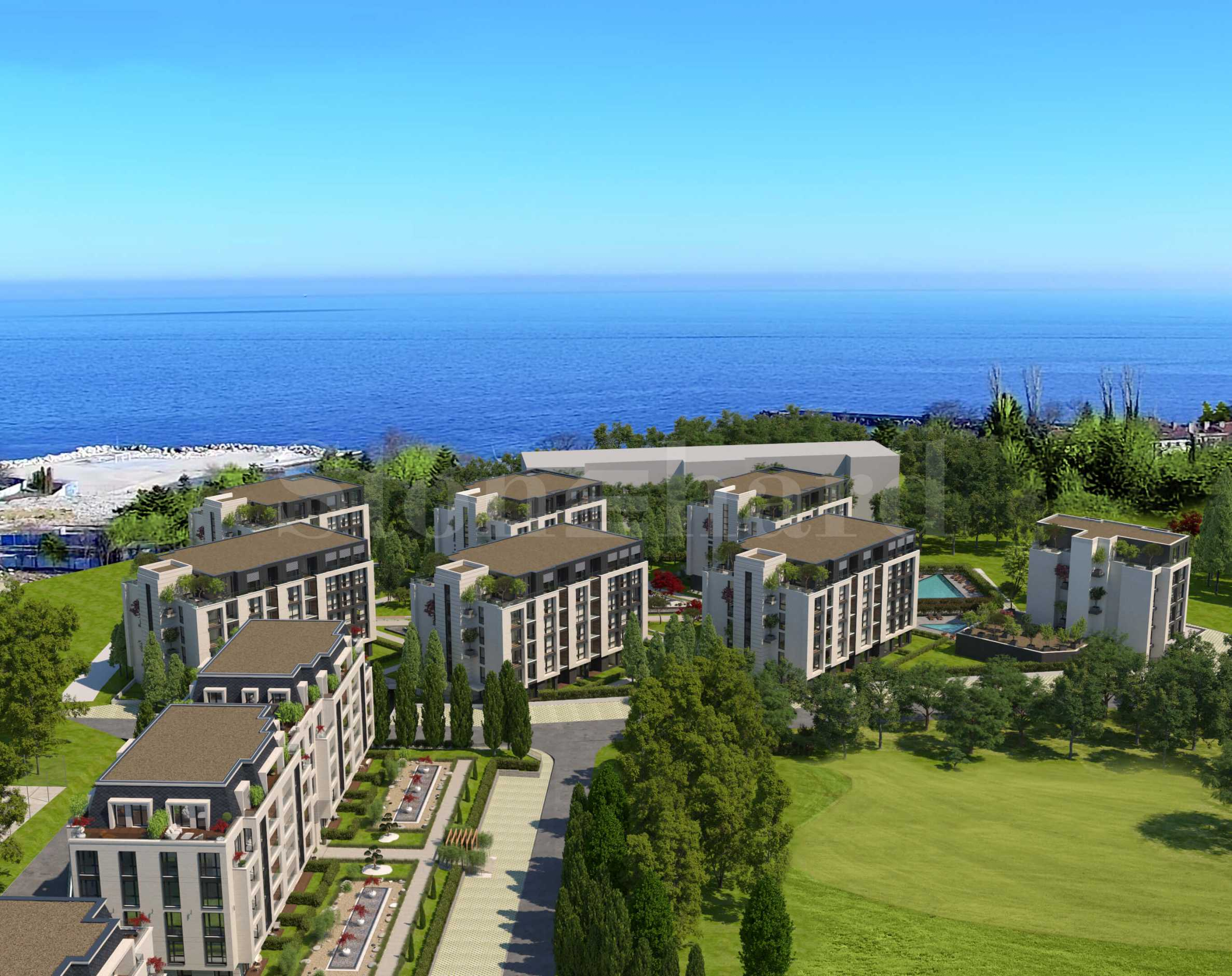 Holiday apartments in a new complex 200 m from the beach2 - Stonehard