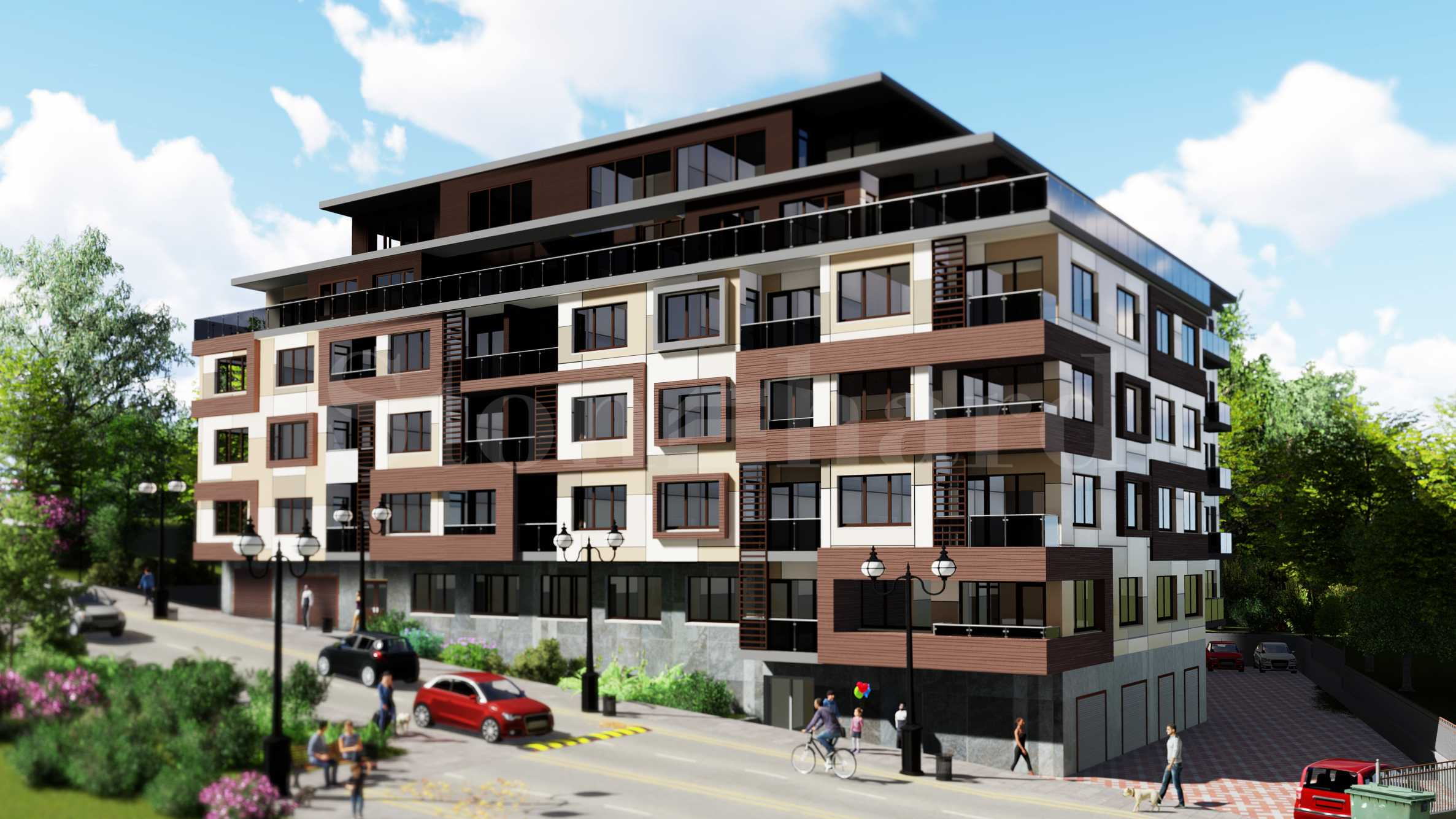 Residential building in Mladost 1 quarter1 - Stonehard