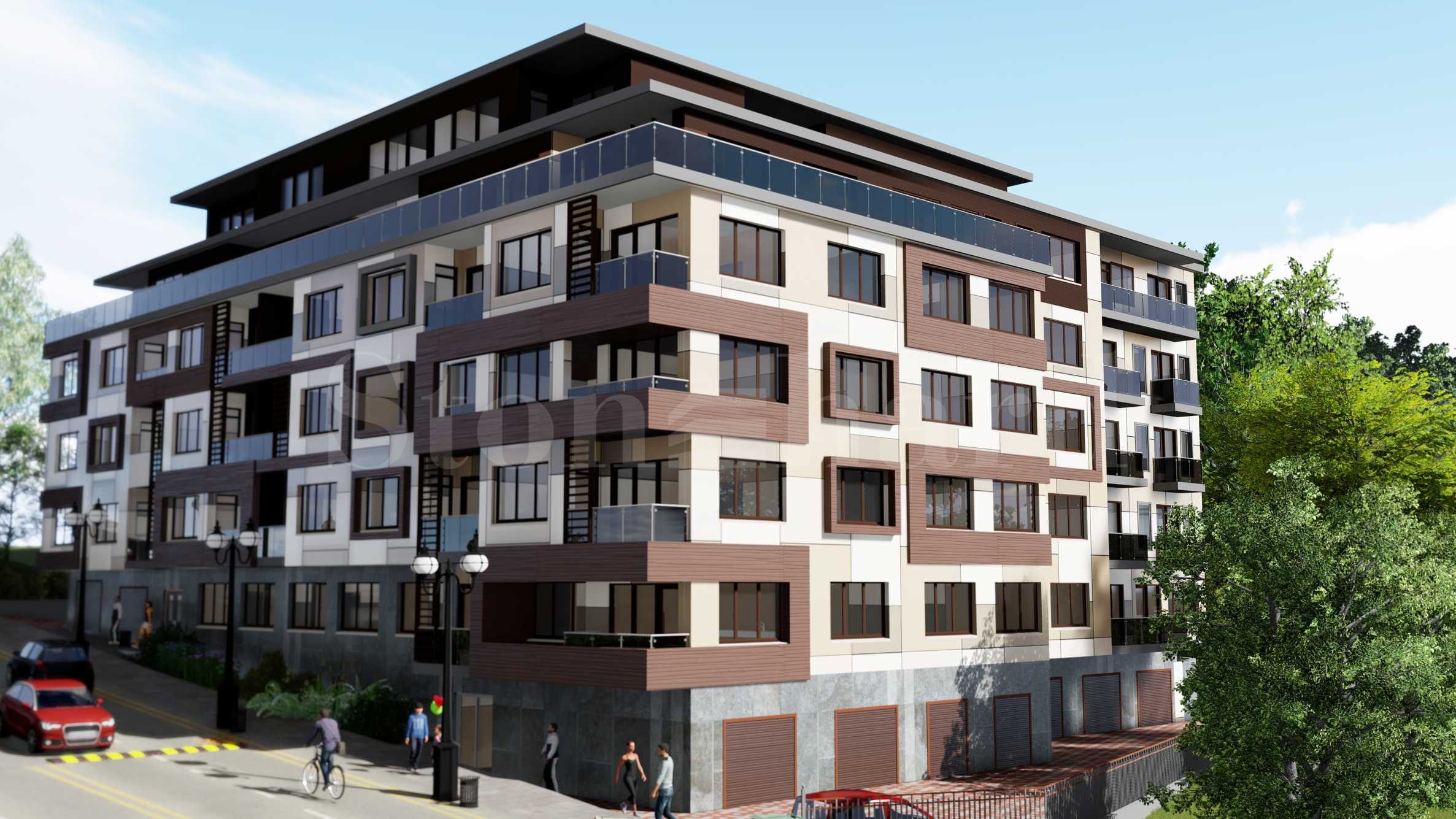 Residential building in Mladost 1 quarter2 - Stonehard