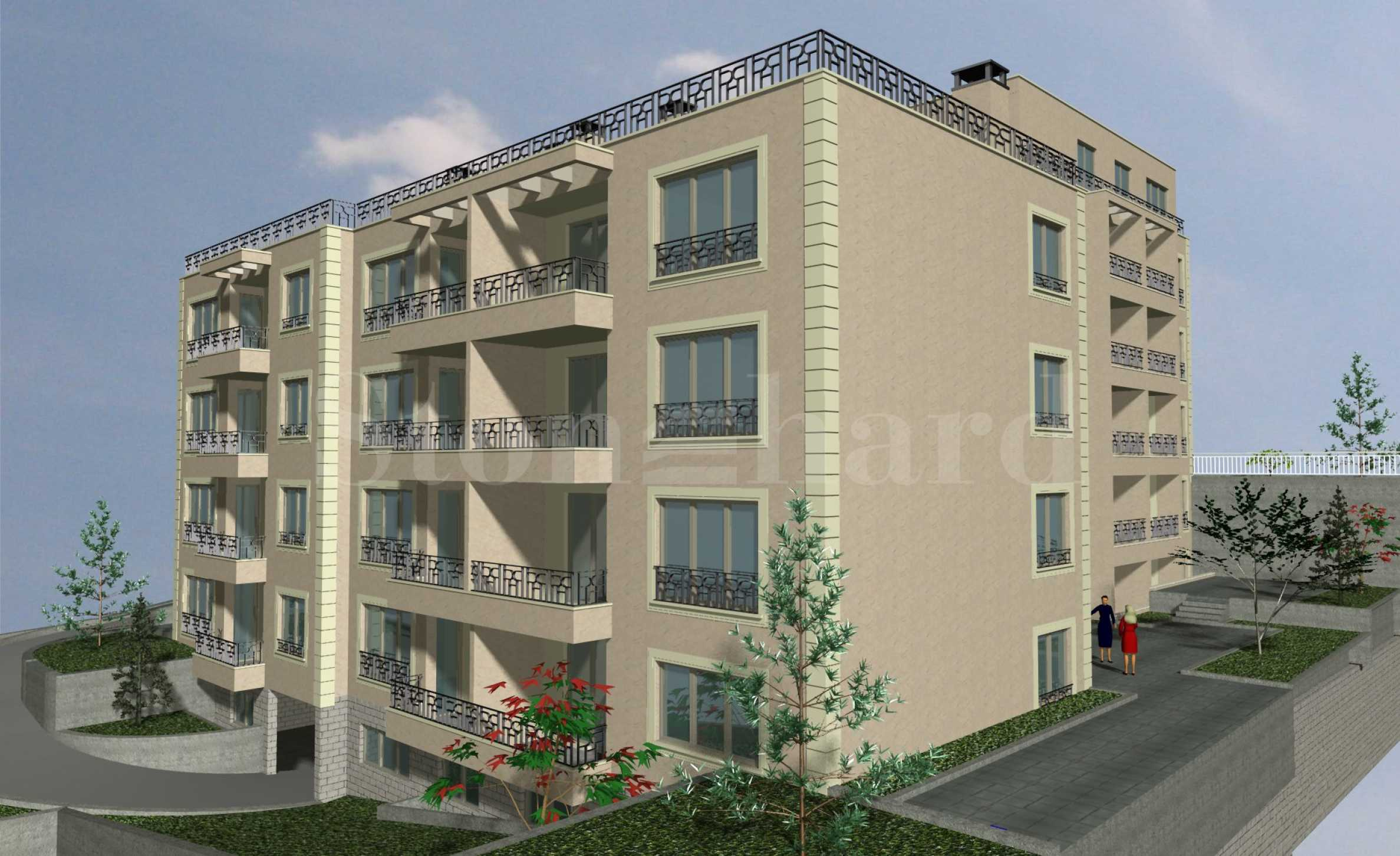 Apartments with garages near a park in Briz, Varna2 - Stonehard