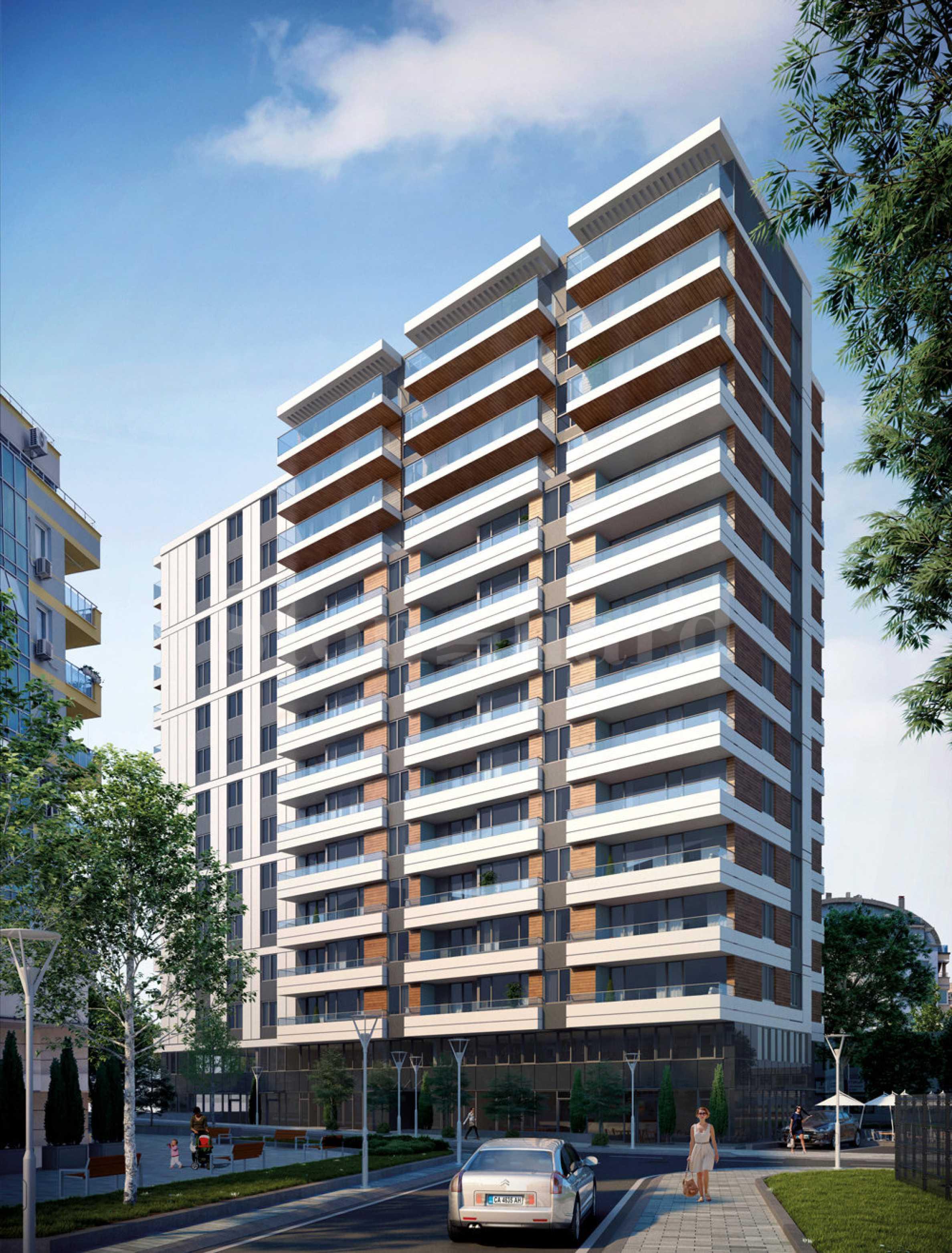 Апартаменти с разкошна панорама към Витоша1 - Stonehard