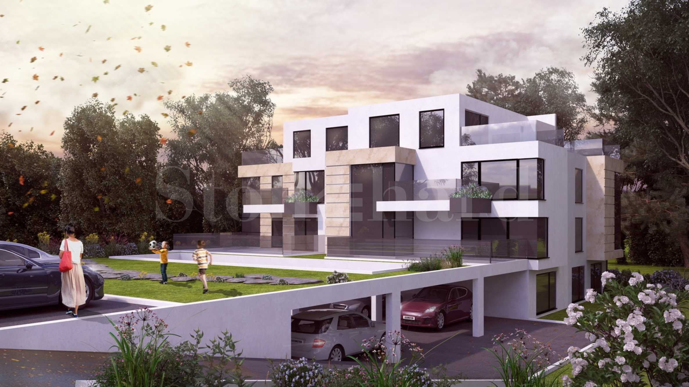 Boutique residential building at the foot of Vitosha Mountain1 - Stonehard