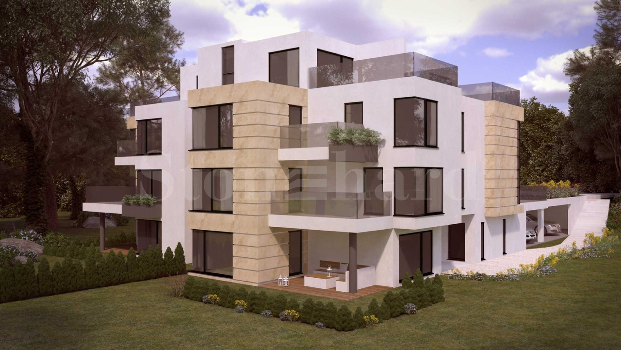 Boutique residential building at the foot of Vitosha Mountain2 - Stonehard