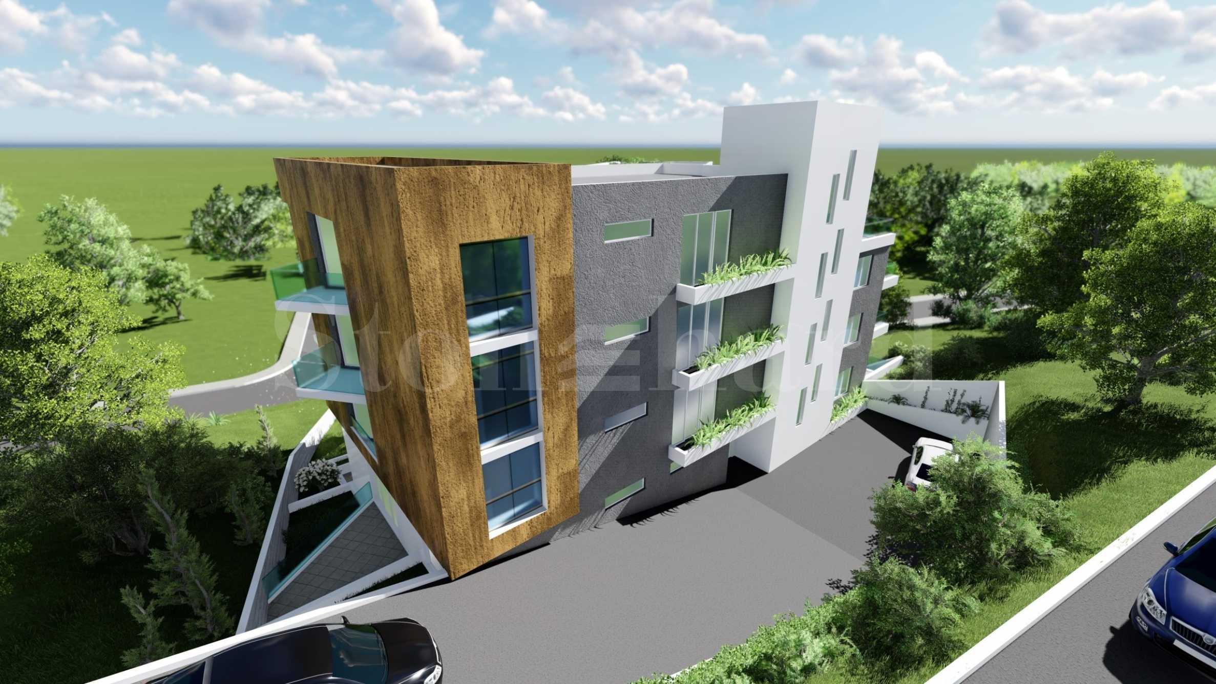 Новострояща се жилищна сграда в кв. Виница1 - Stonehard