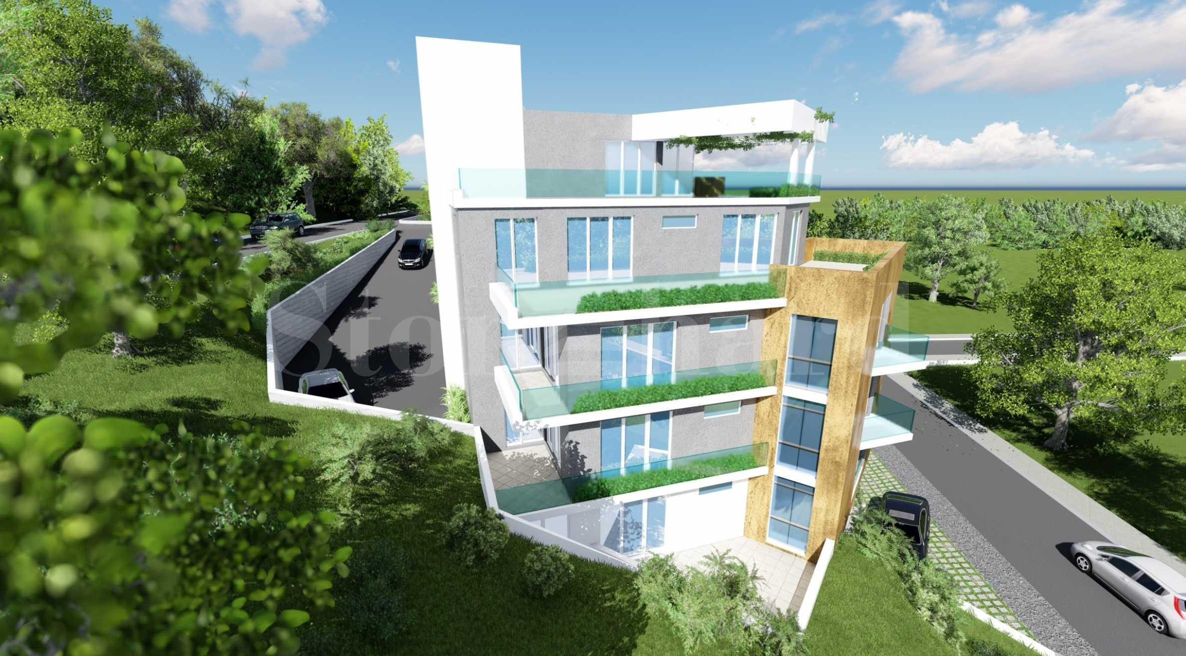 Новострояща се жилищна сграда в кв. Виница2 - Stonehard