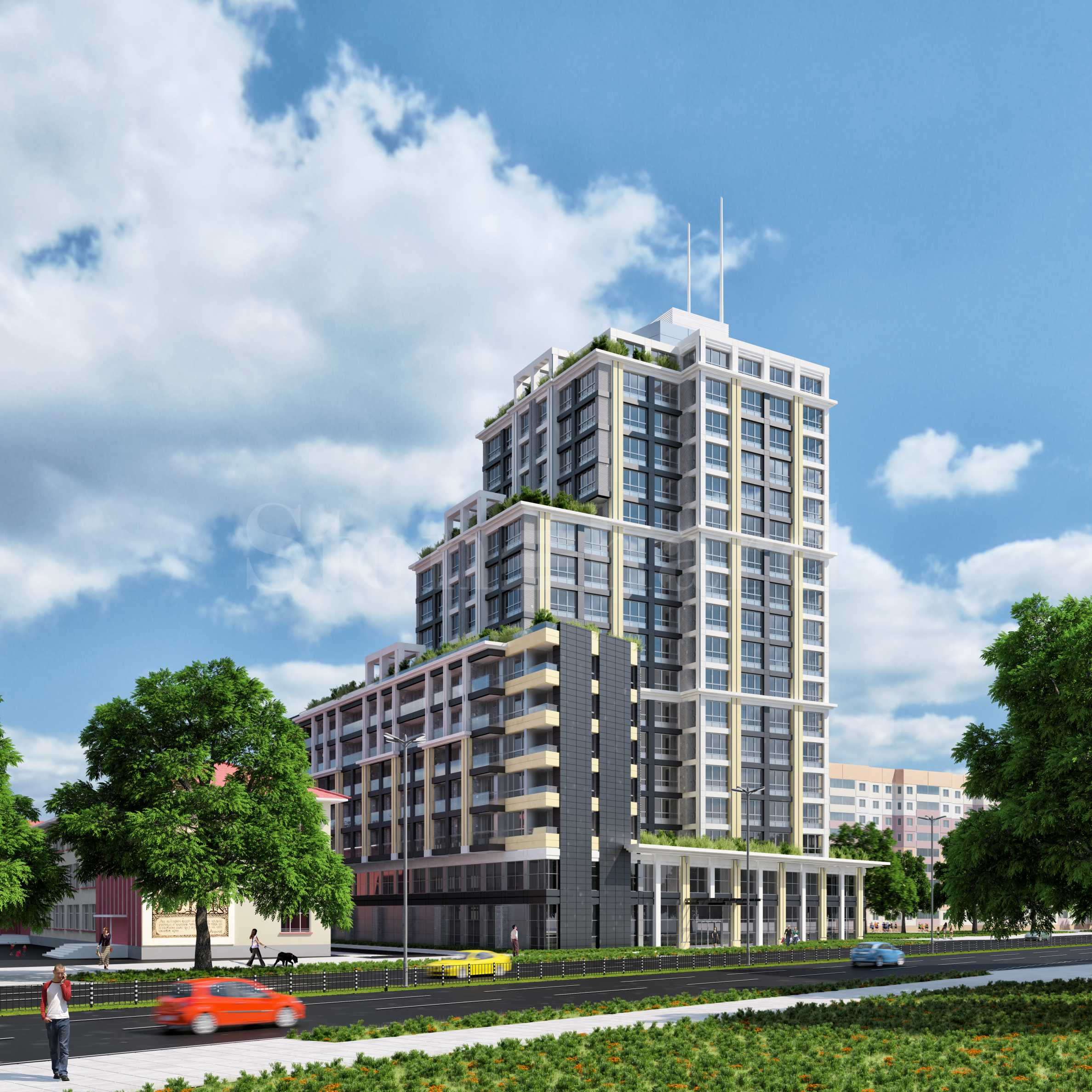 Properties at attractive prices in 18-storey building near the center2 - Stonehard
