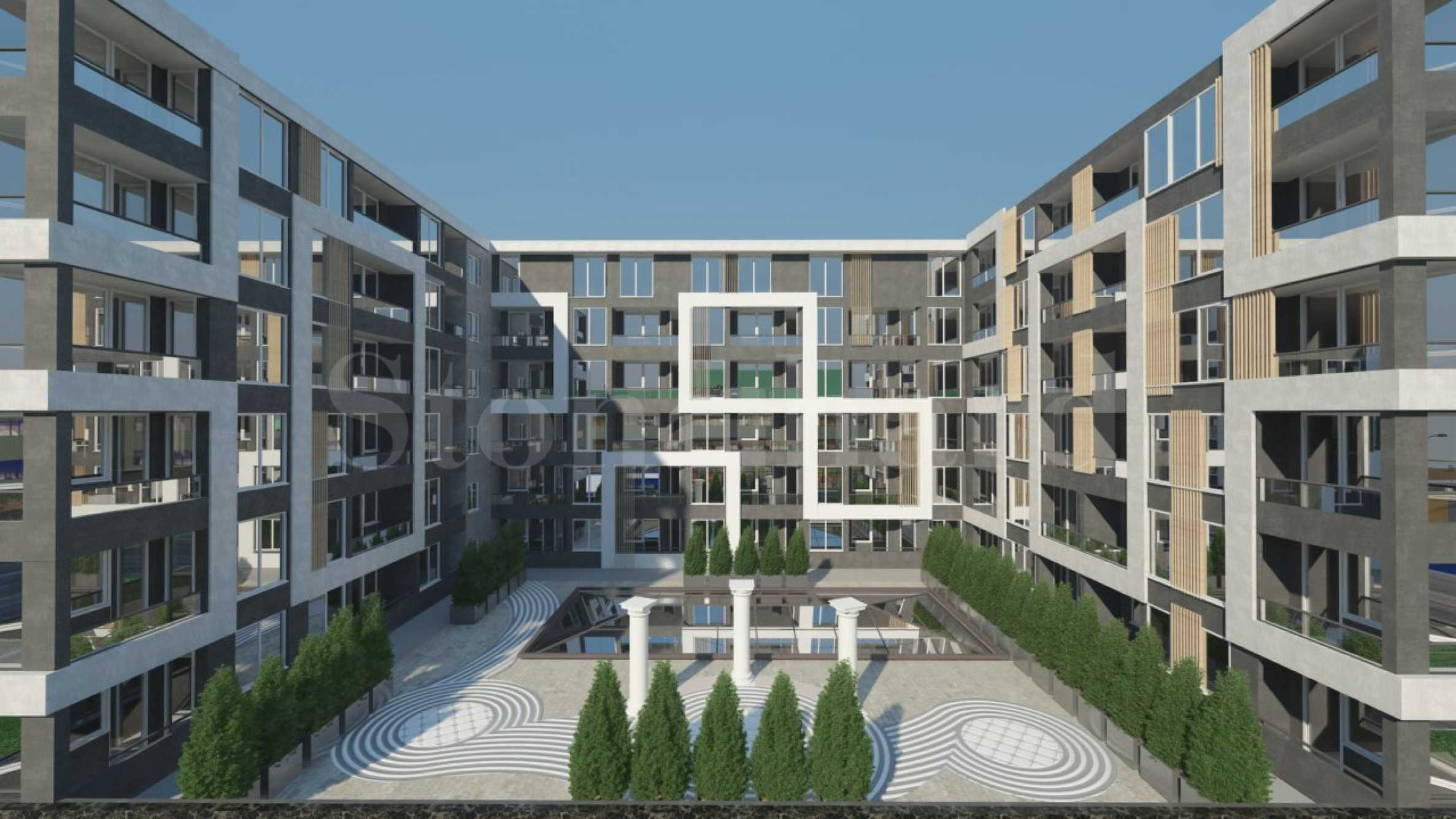 New residential building with business center near Burgas Plaza Mall2 - Stonehard