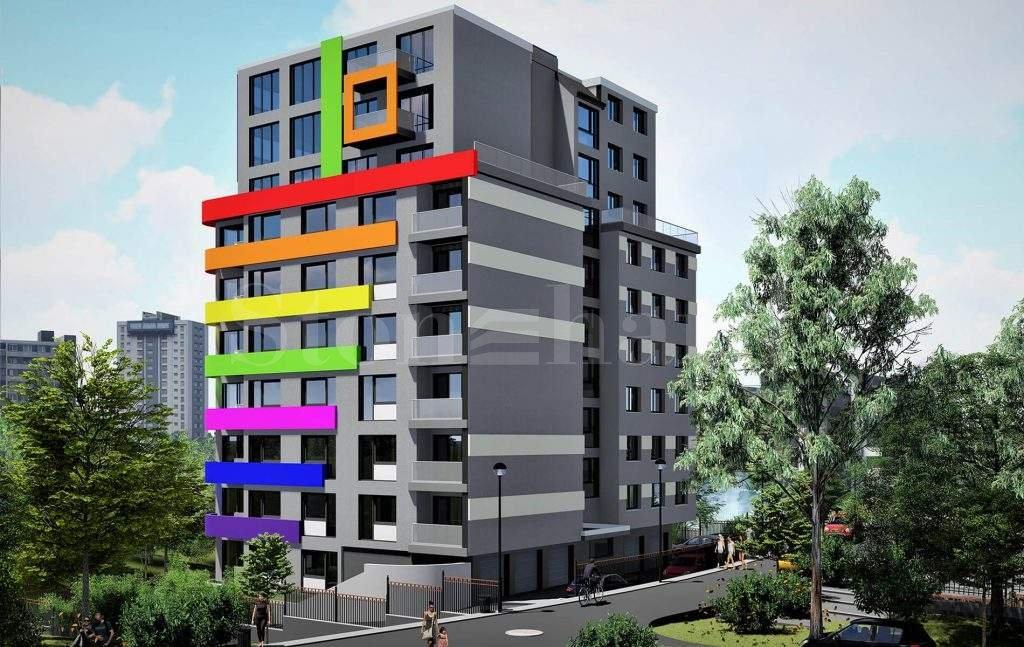 Нова модерна панорамна сграда в кв. Възраждане 31 - Stonehard
