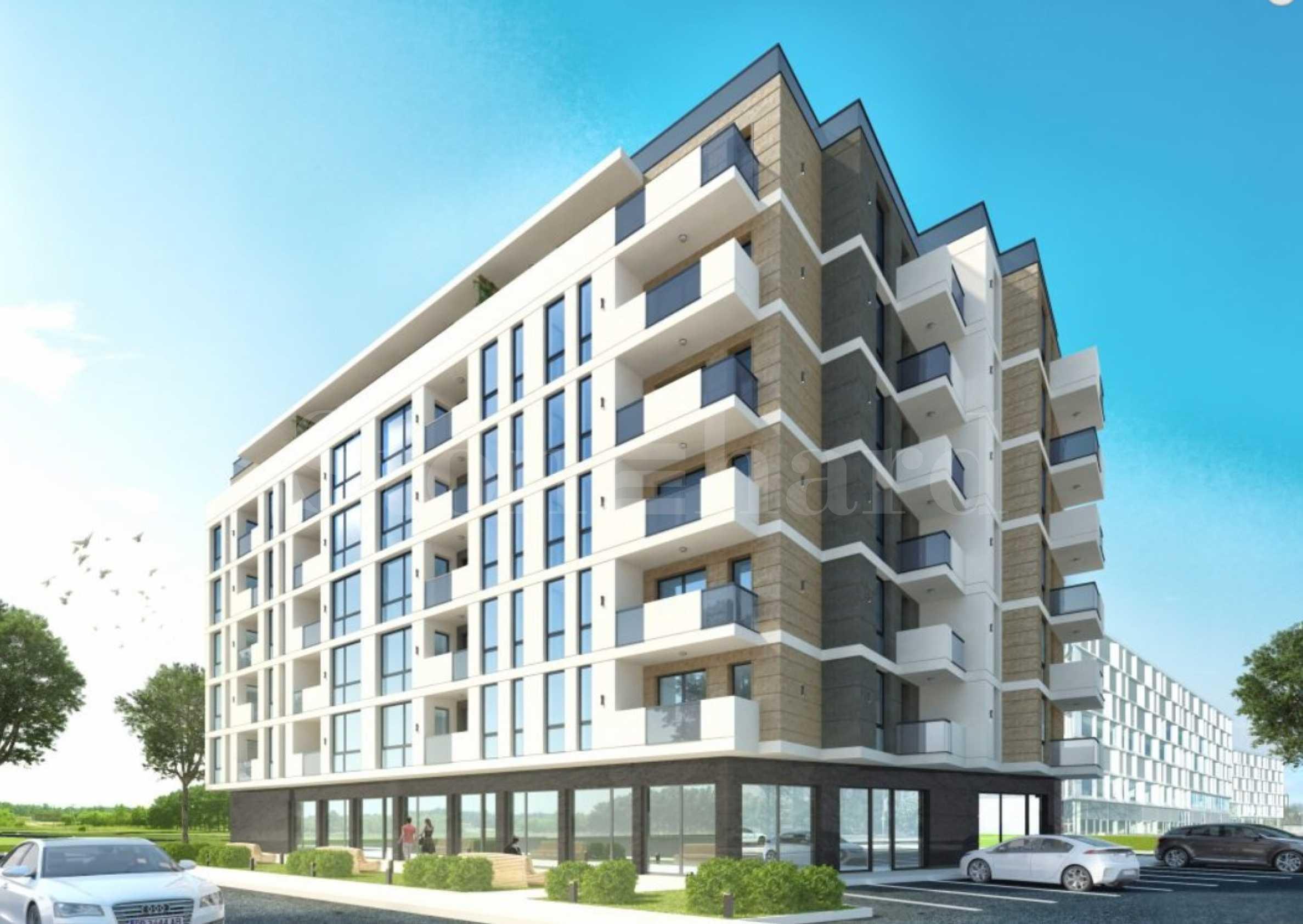 Нови апартаменти на цени от 540 евро/кв.м в спокоен квартал1 - Stonehard