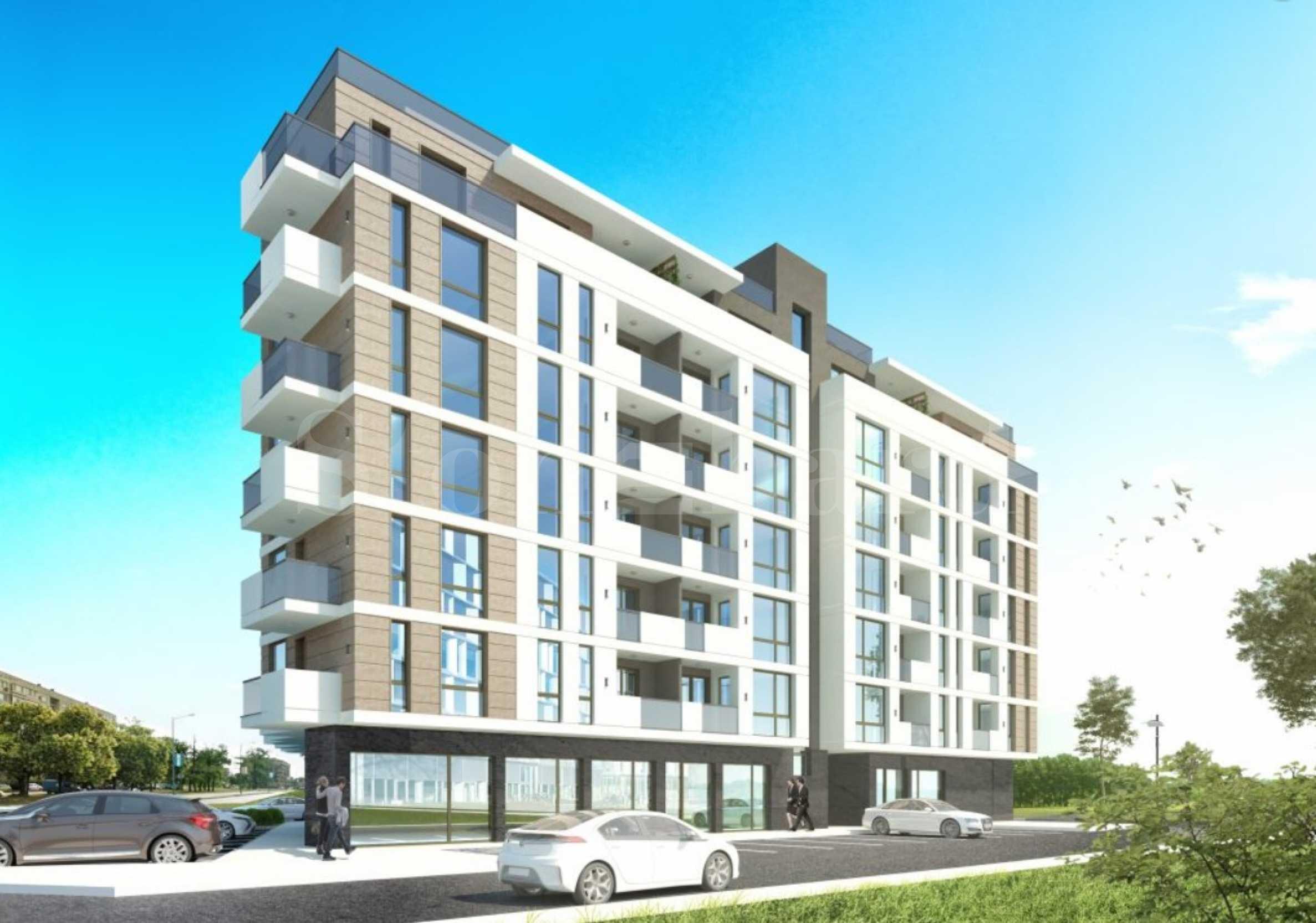Нови апартаменти на цени от 540 евро/кв.м в спокоен квартал2 - Stonehard