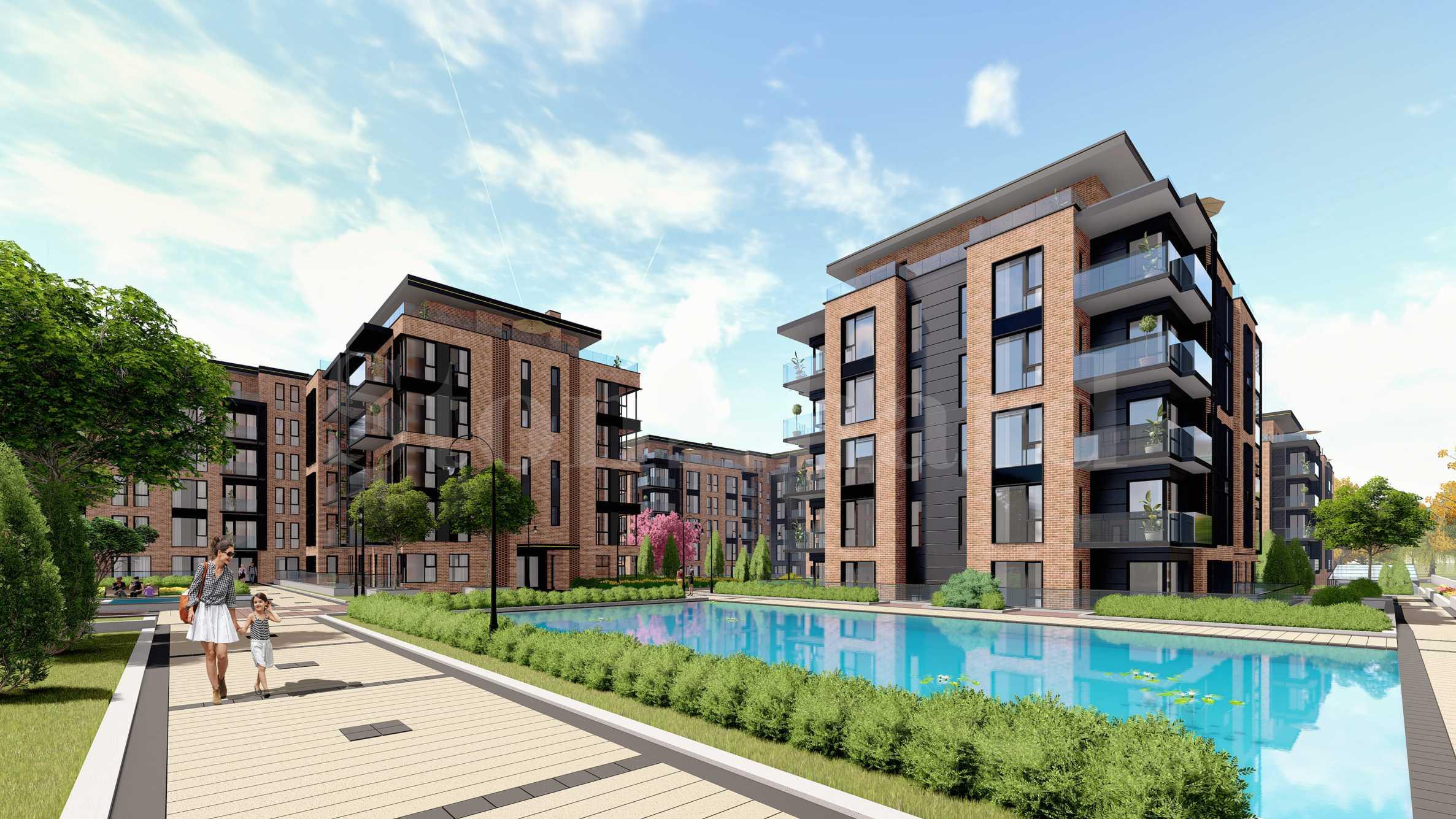 SoHome Residential Park - 10 жилищни сгради в Ловния парк на Борисова градина1 - Stonehard