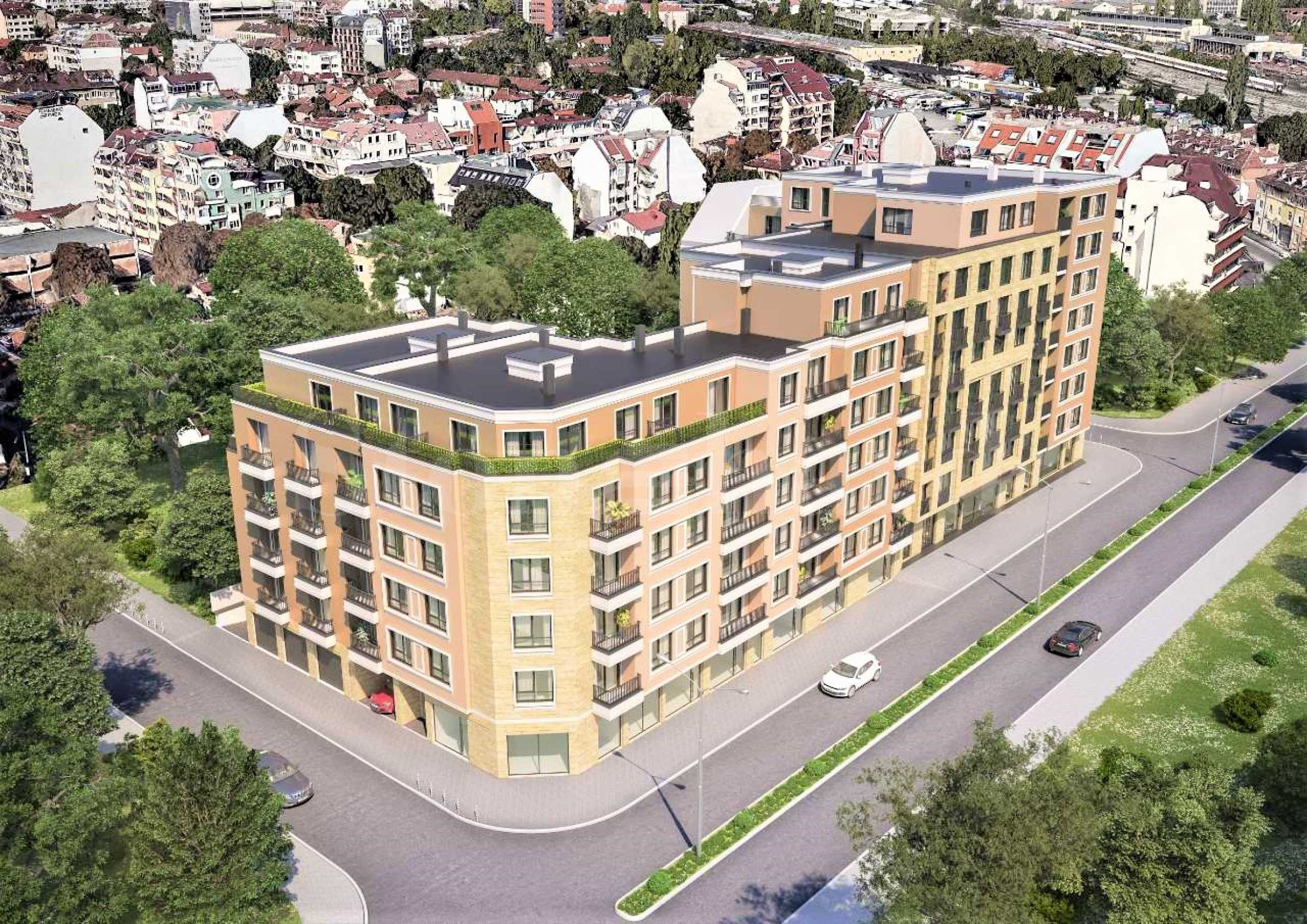 New apartments at prices 1 000 €/sq.m. in the central part of Sofia1 - Stonehard