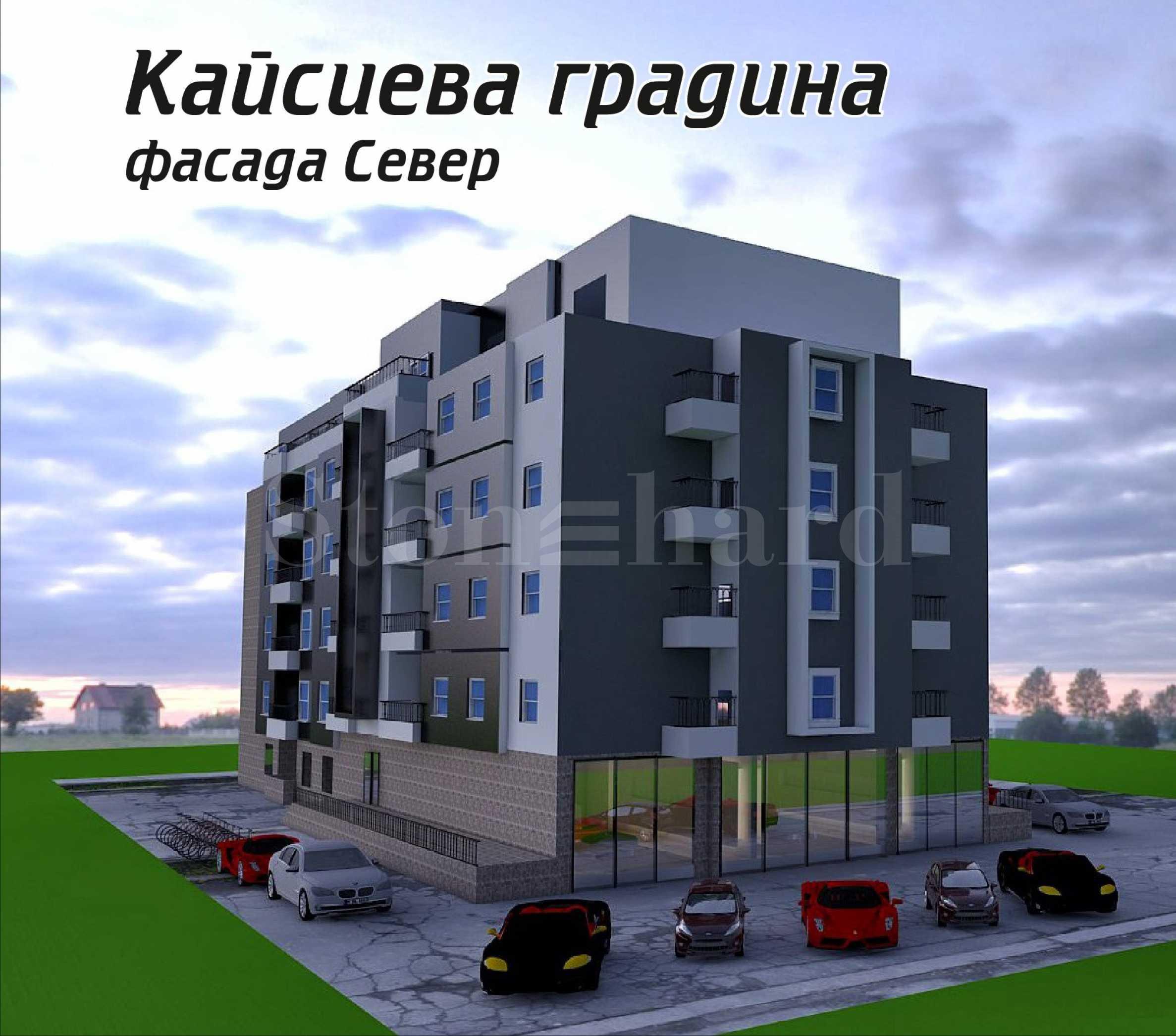 Новостроящ се комплекс от две сгради в кв. Кайсиева градина1 - Stonehard