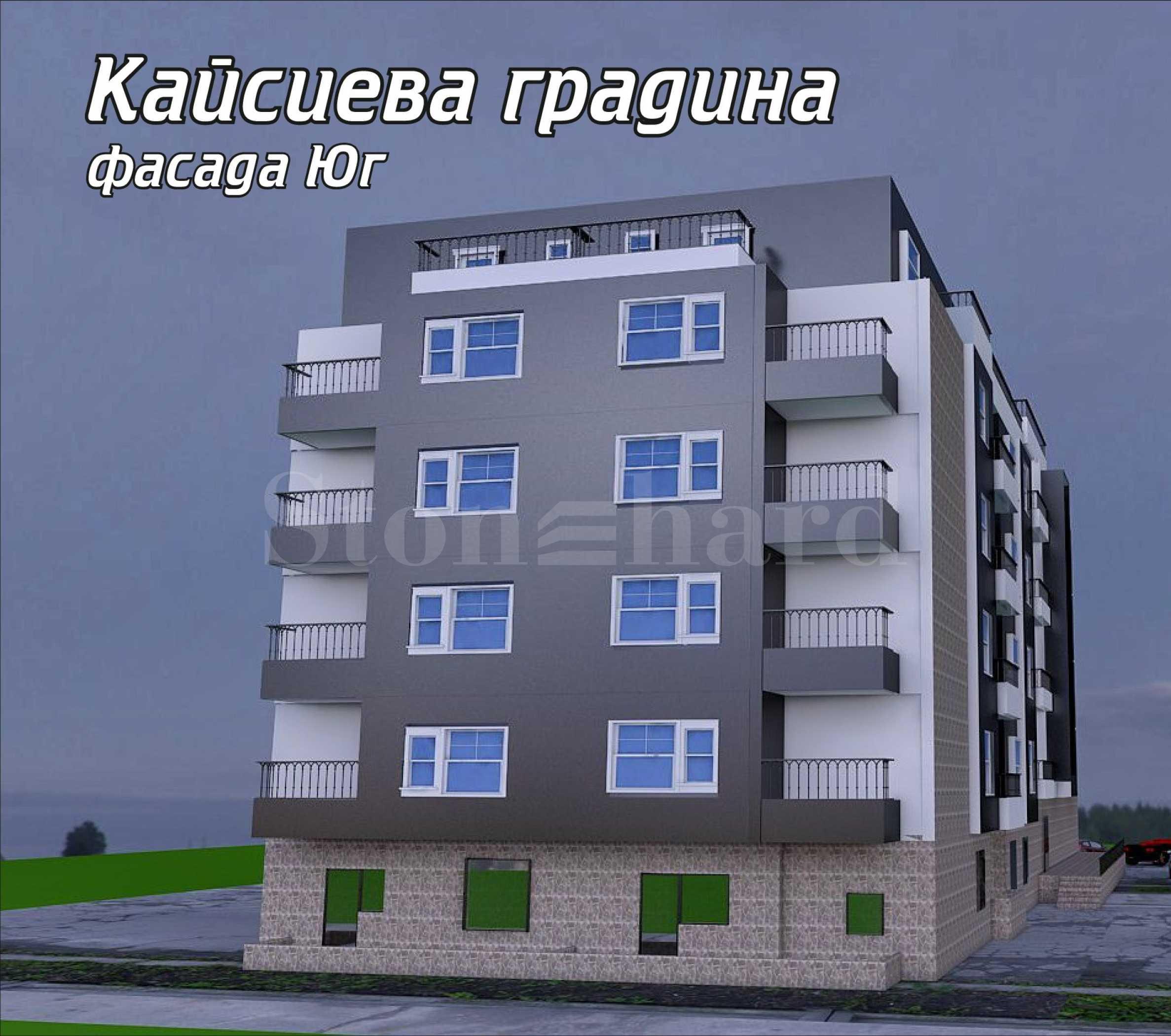Новостроящ се комплекс от две сгради в кв. Кайсиева градина2 - Stonehard
