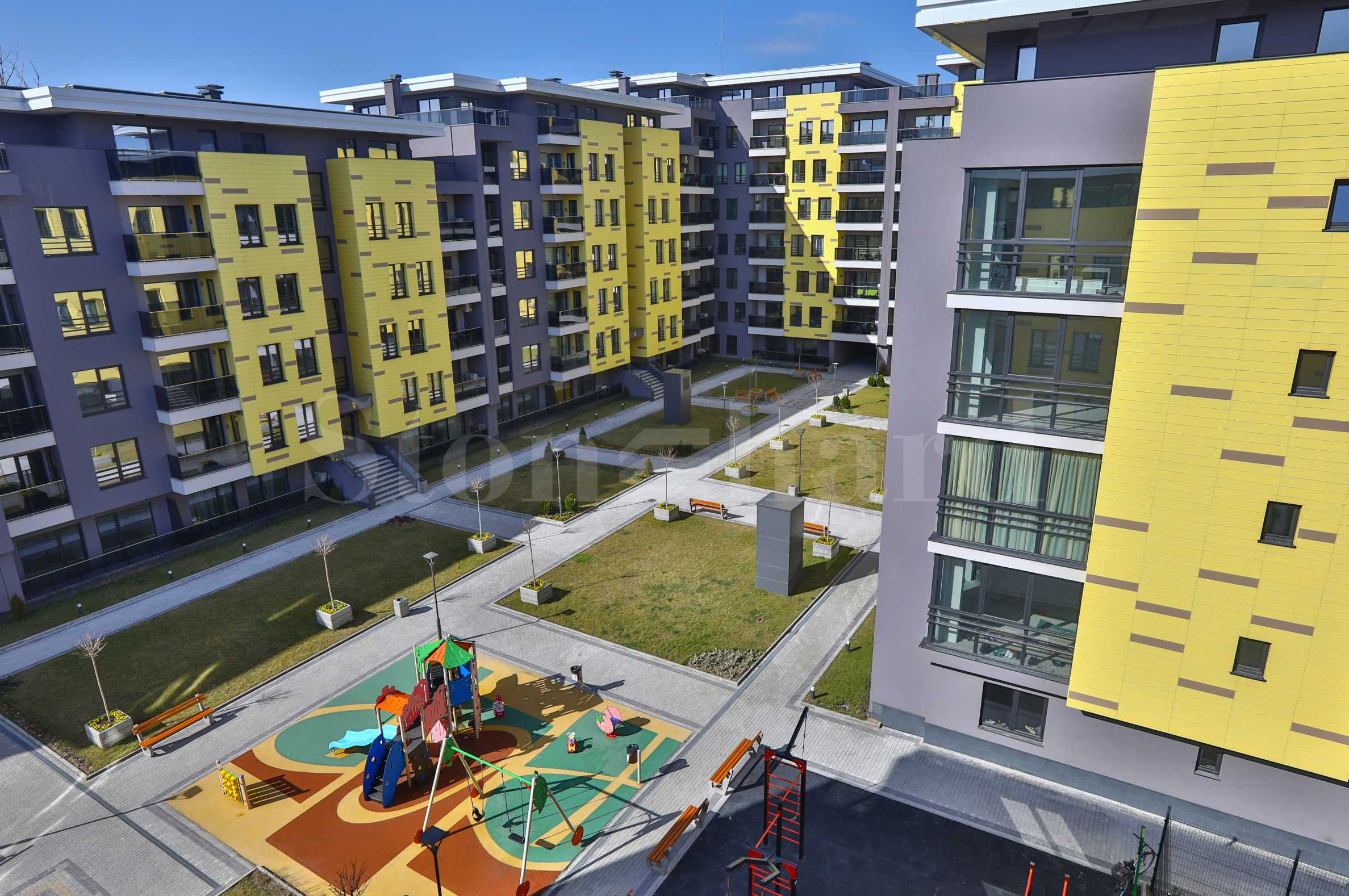 Last apartments in a new complex with park near Mall Plovdiv2 - Stonehard