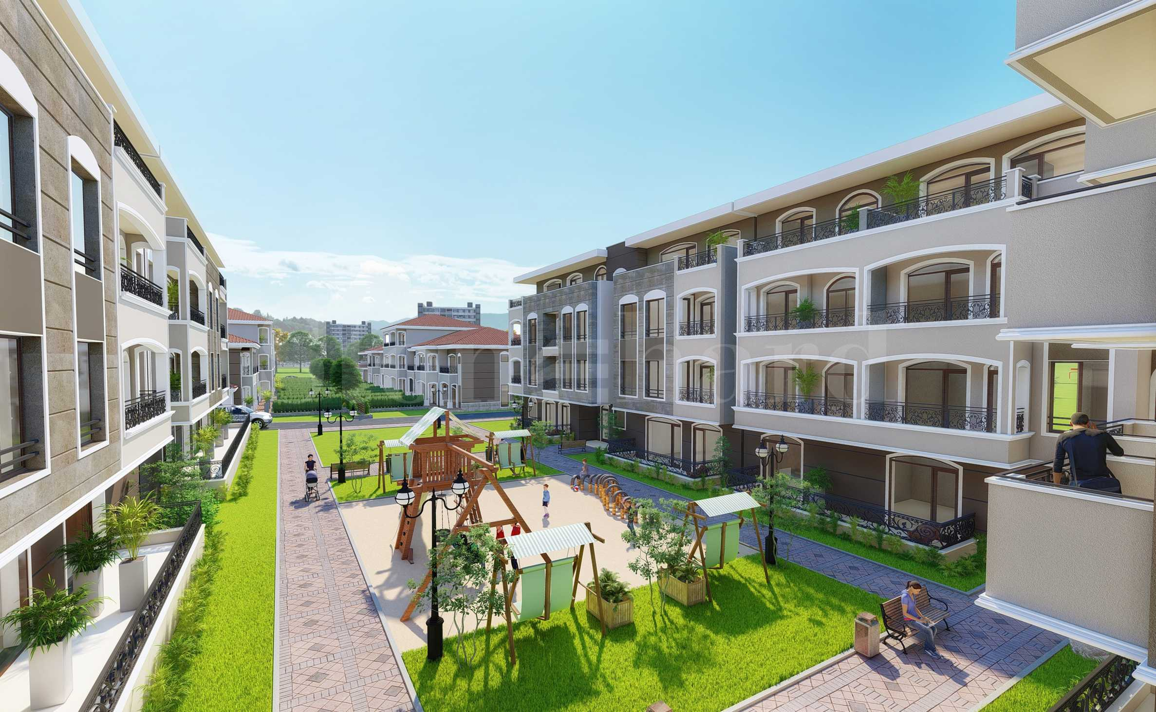 New complex of apartments and townhouses for sale from 504 €/ m²2 - Stonehard