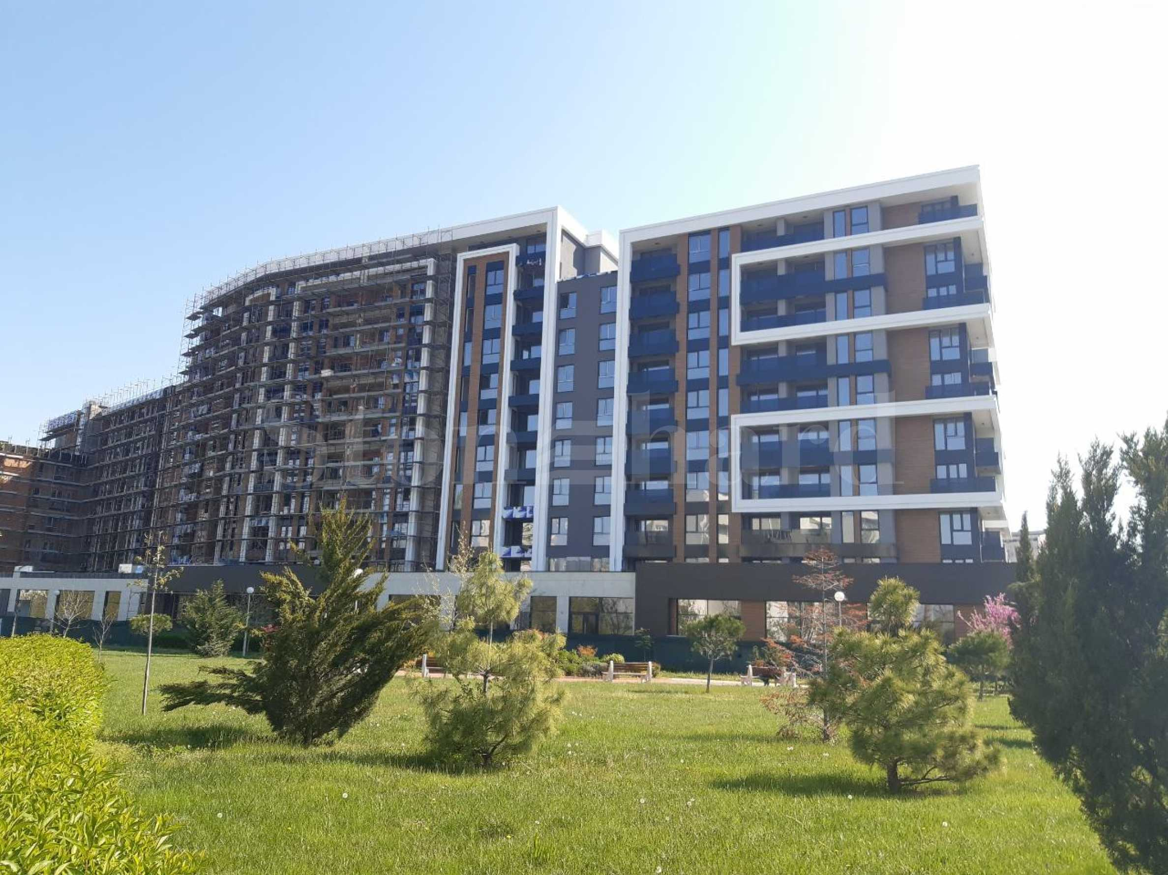 Plovdiv City Park II - a new residential complex near Mall Plovdiv and Rowing base Park2 - Stonehard