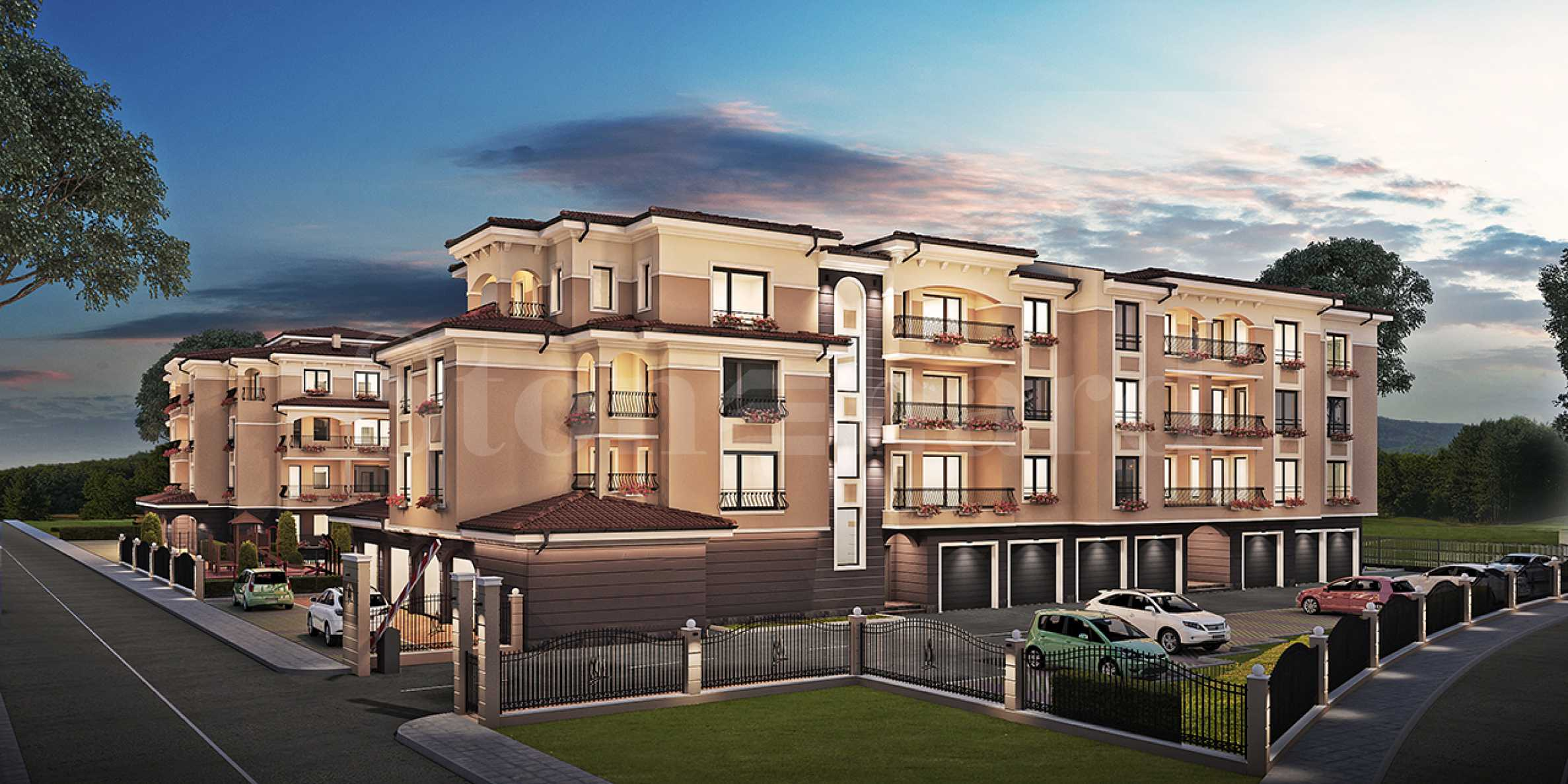 New apartments in a complex with a park in a prestigious neighborhood at attractive prices1 - Stonehard