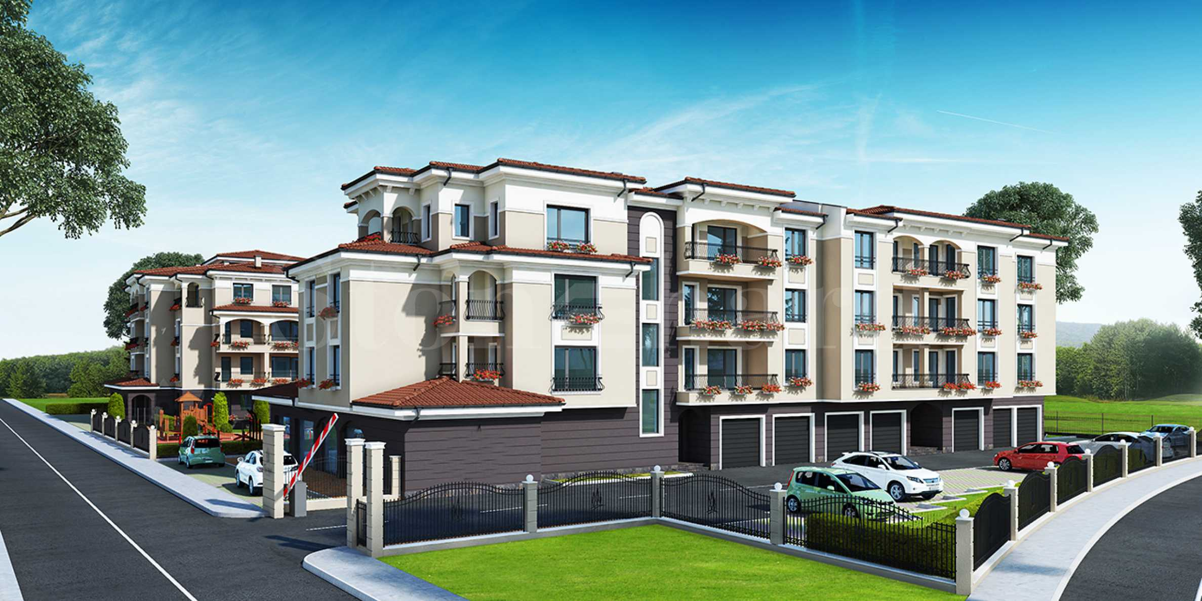 New apartments in a complex with a park in a prestigious neighborhood at attractive prices2 - Stonehard