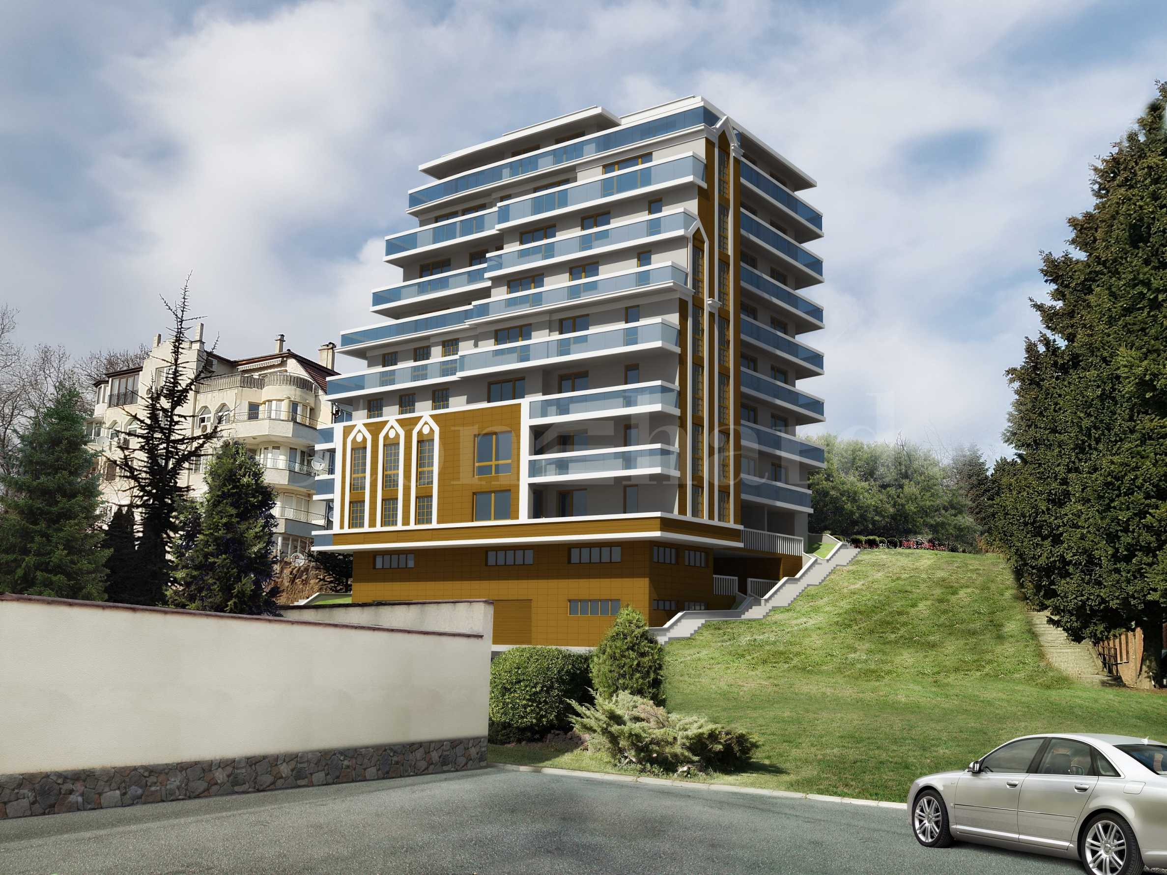 Stonehard Breeze Residence —нови апартаменти в кв. Бриз-юг, недалеч Морската градина1 - Stonehard