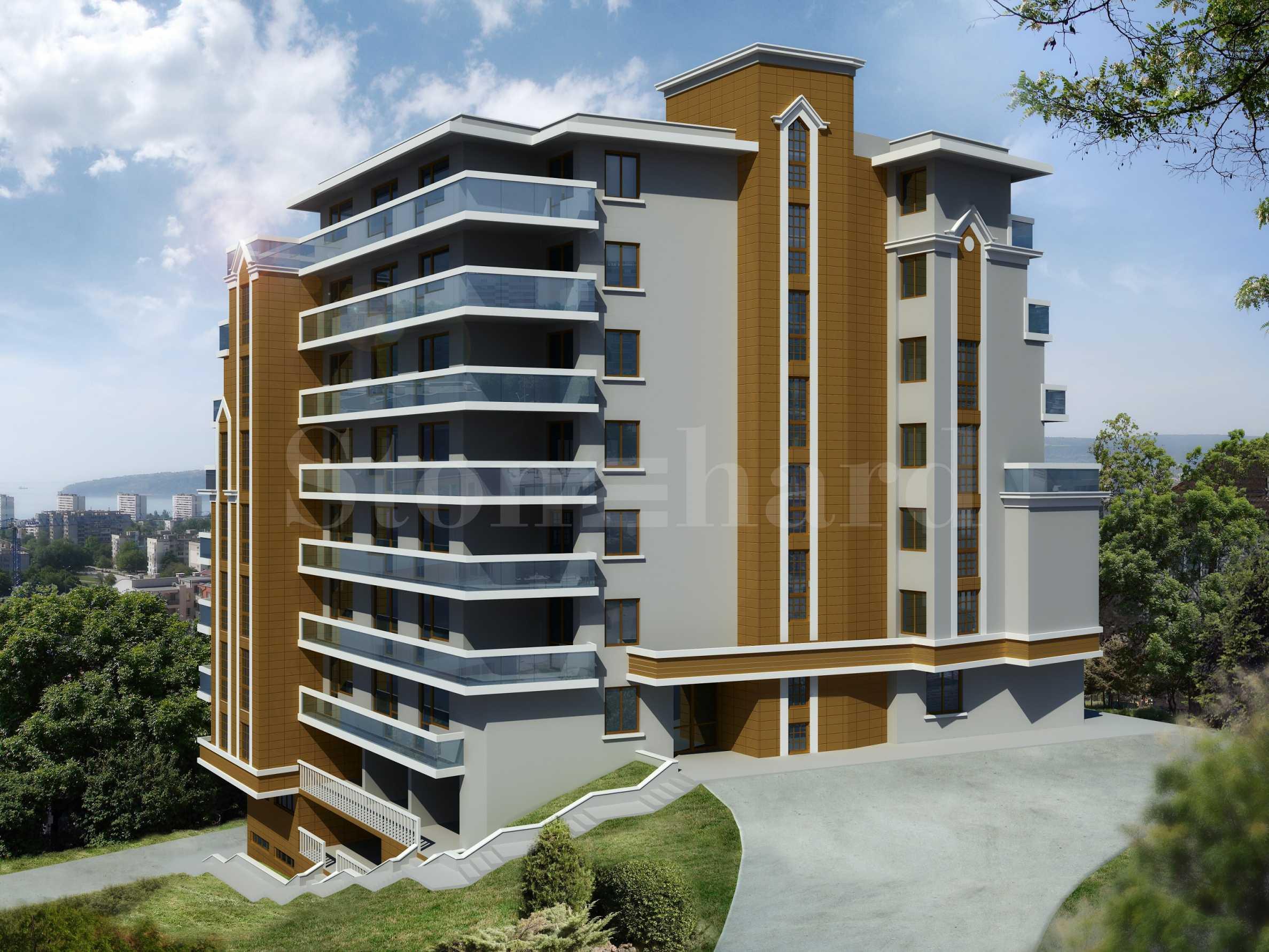 Stonehard Breeze Residence —нови апартаменти в кв. Бриз-юг, недалеч Морската градина2 - Stonehard