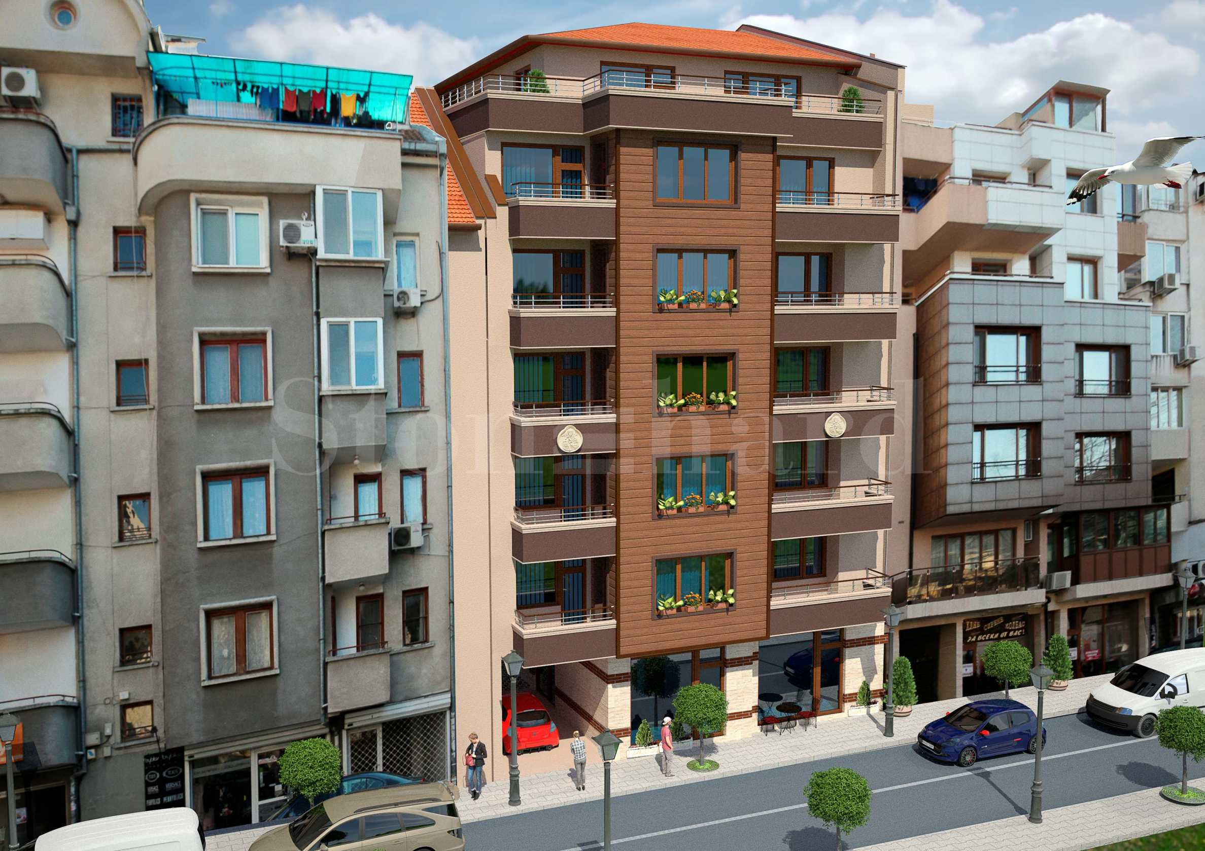 New building with 2-bedroom apartments near Aleksandrovska street1 - Stonehard