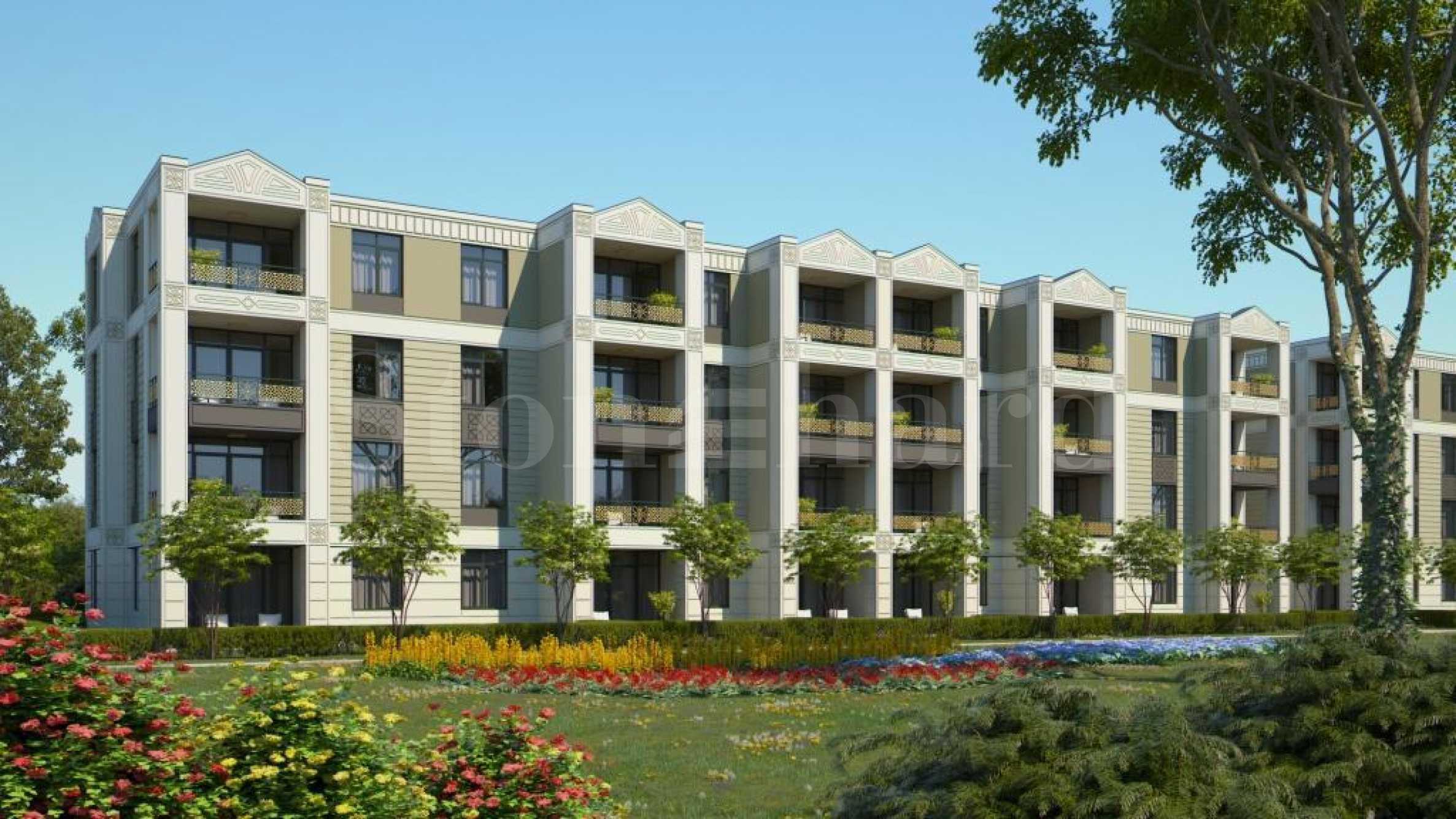 Апартаменти в най-новата фаза на Greenlife Beach Resort на Каваците1 - Stonehard