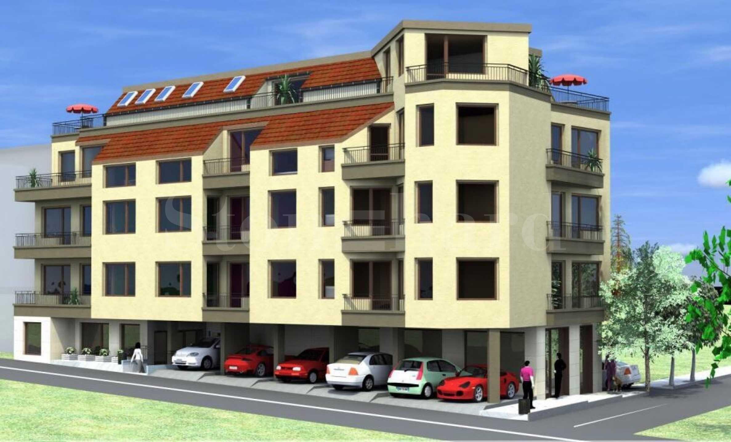 Apartments in new building in Asparuhovo district, Varna (Bulgaria)1 - Stonehard