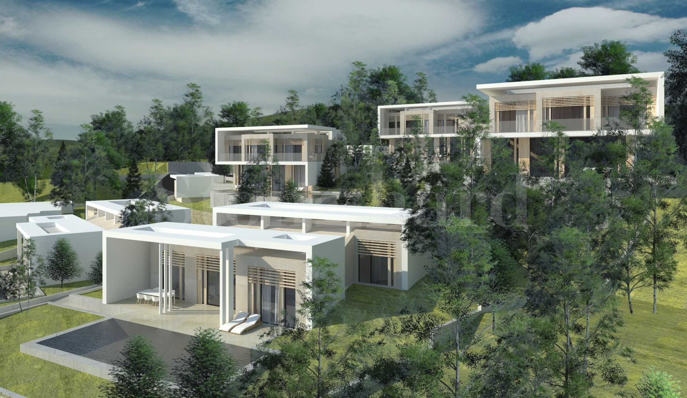 Turn-key houses with pools, verandas and parking spaces in a coastal complex near Sozopol2 - Stonehard