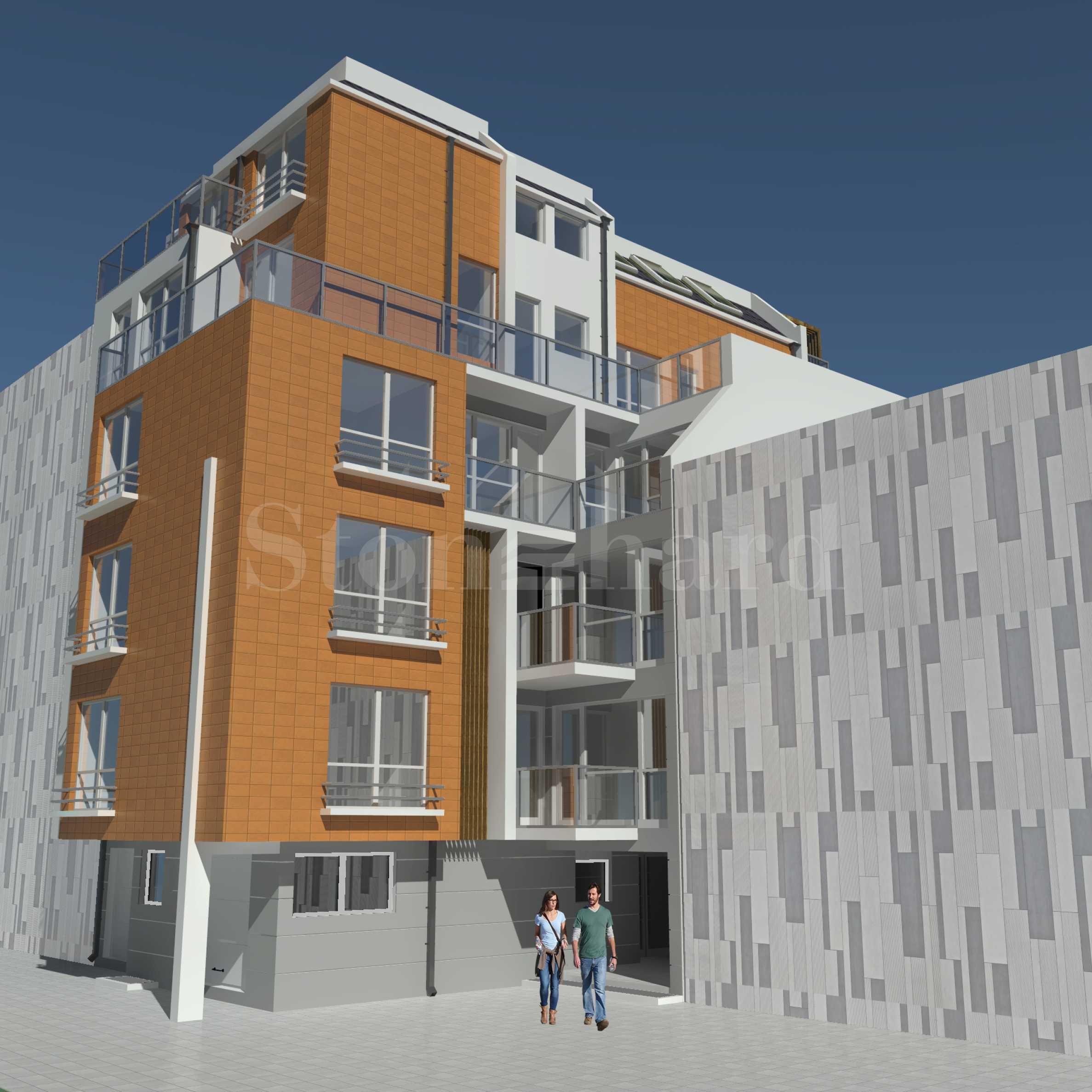 Изключителни апартаменти в жилищна сграда ново строителство в кв. Възраждане2 - Stonehard