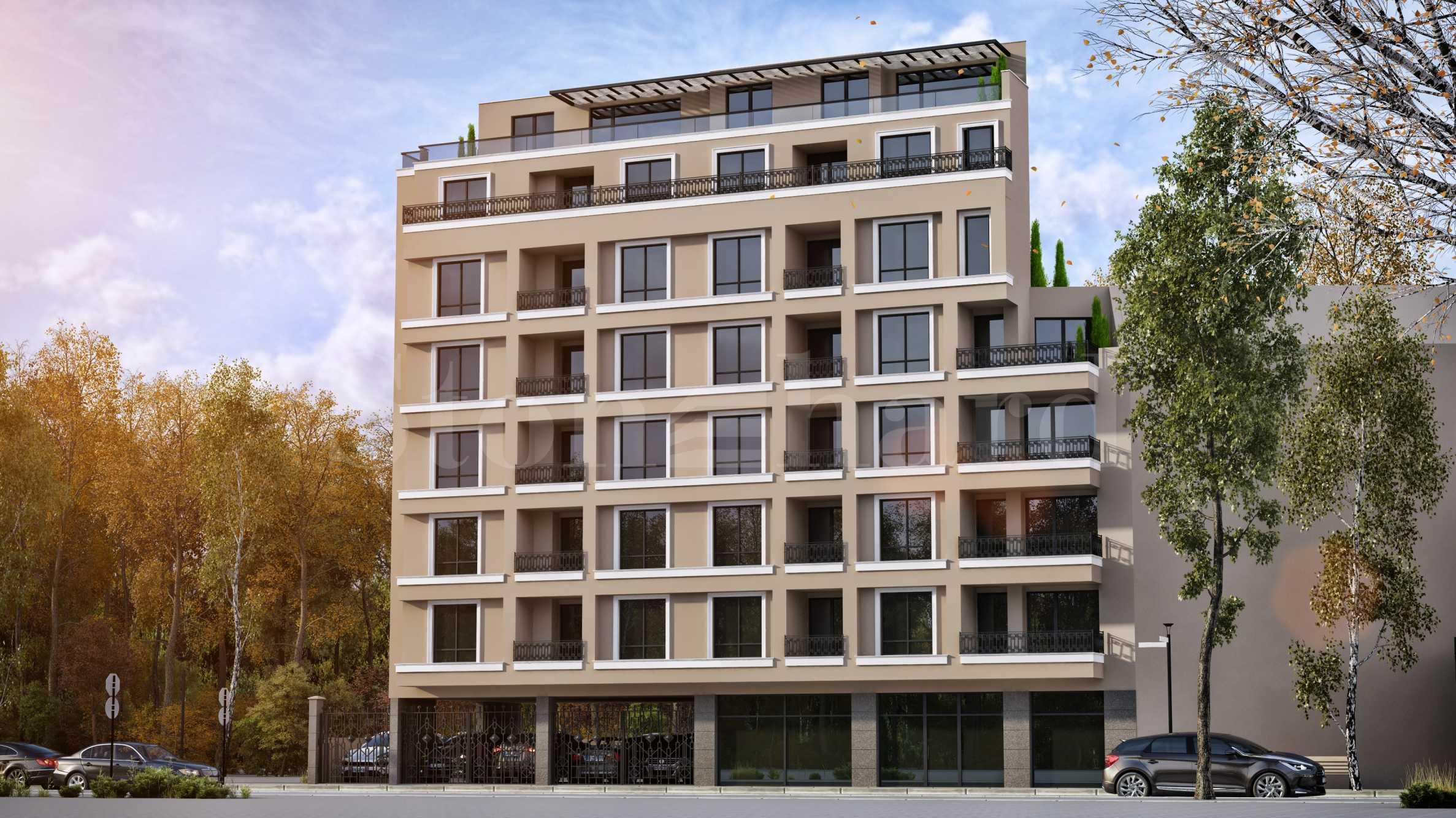 Инвестиция в апартаменти, магазини, лекарски кабинети до Медицински университет2 - Stonehard