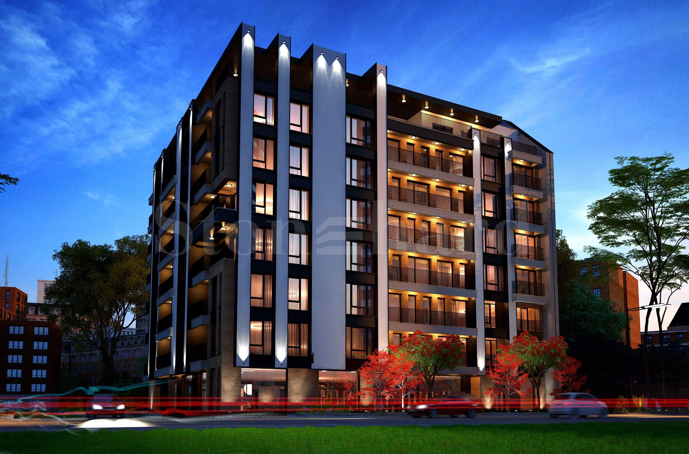 Bissera Residence - exclusive residential building near park