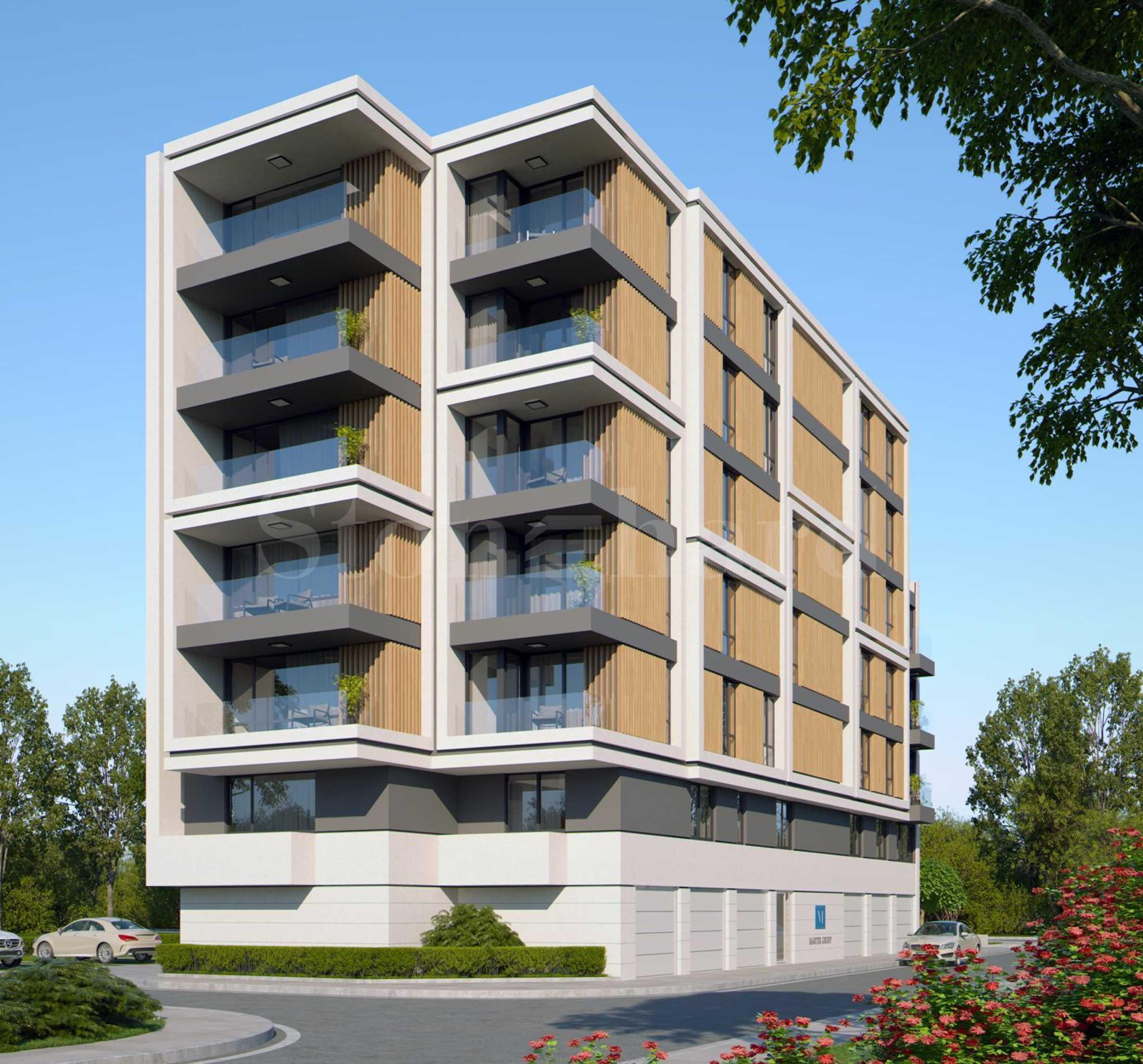 Модерна жилищна сграда в близост до Бизнес парк София1 - Stonehard