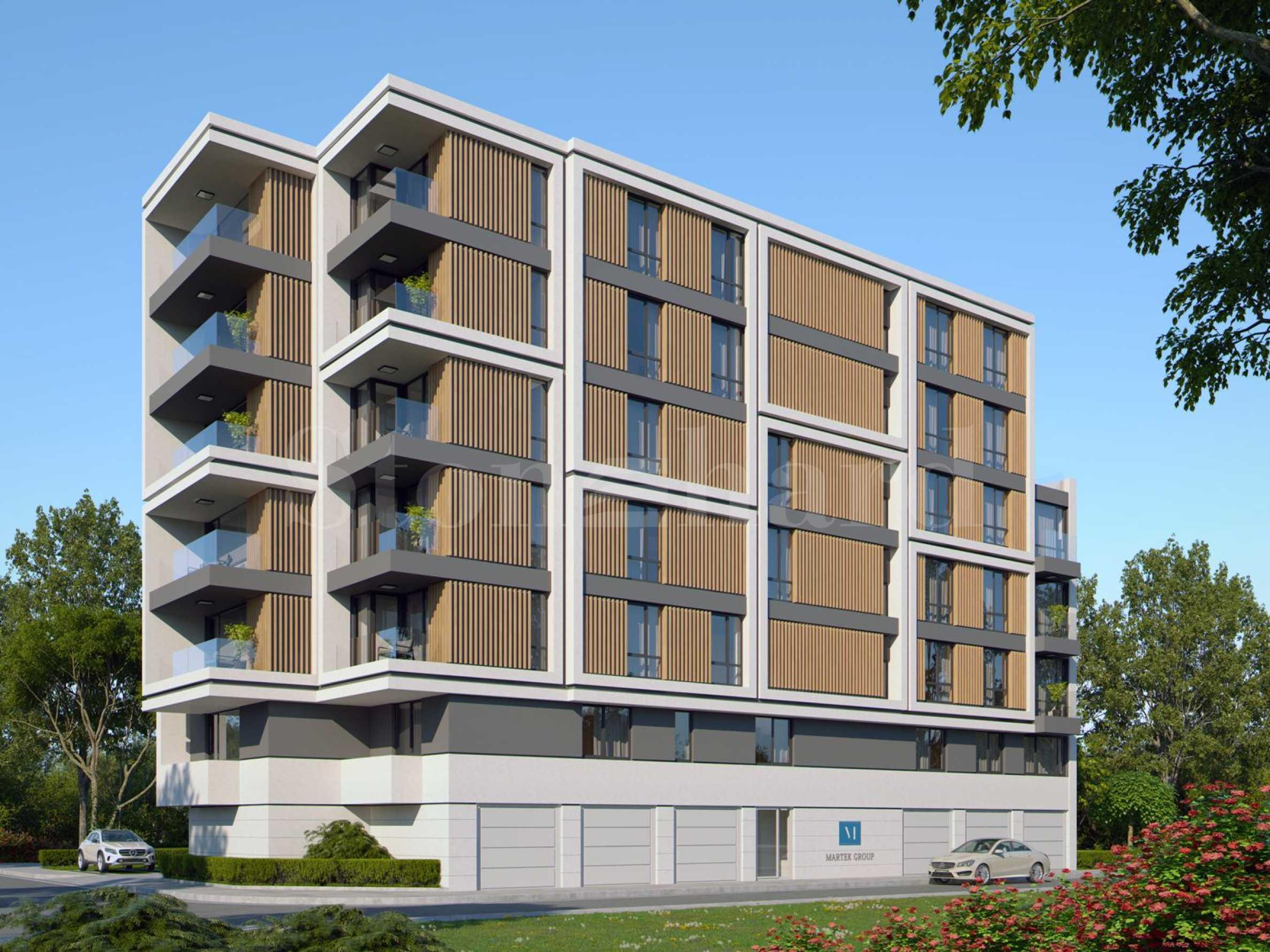 Модерна жилищна сграда в близост до Бизнес парк София2 - Stonehard
