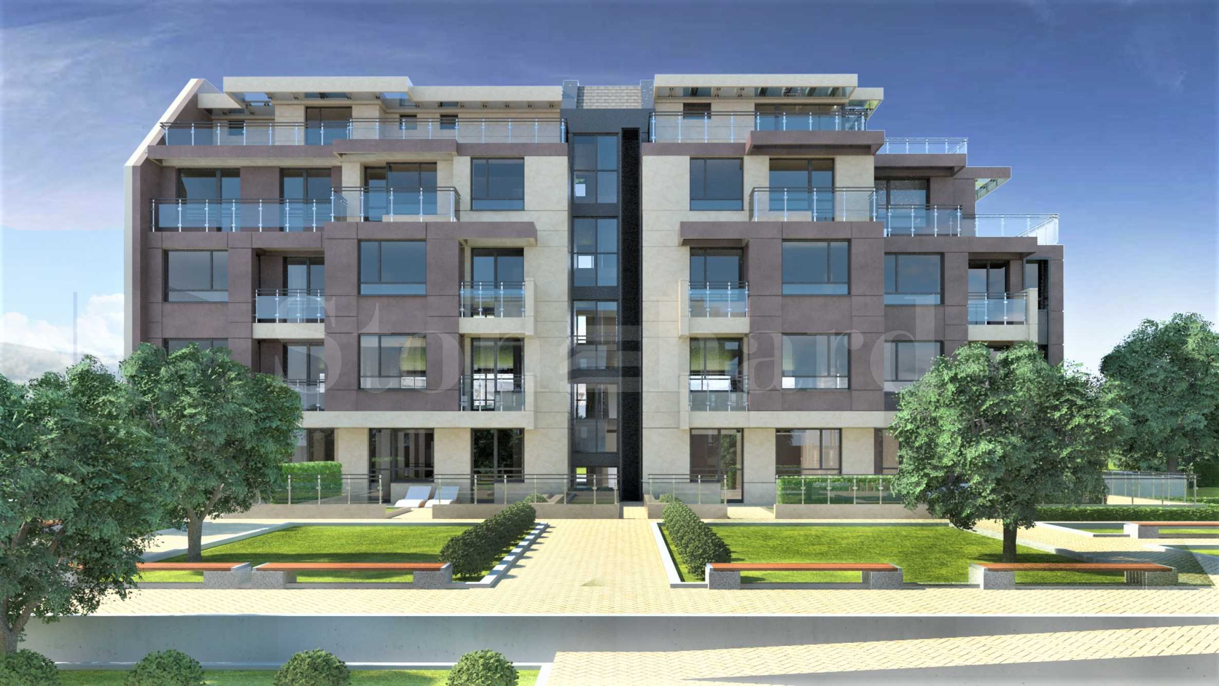 New-build apartments in a modern complex near Mall Paradise in Sofia1 - Stonehard