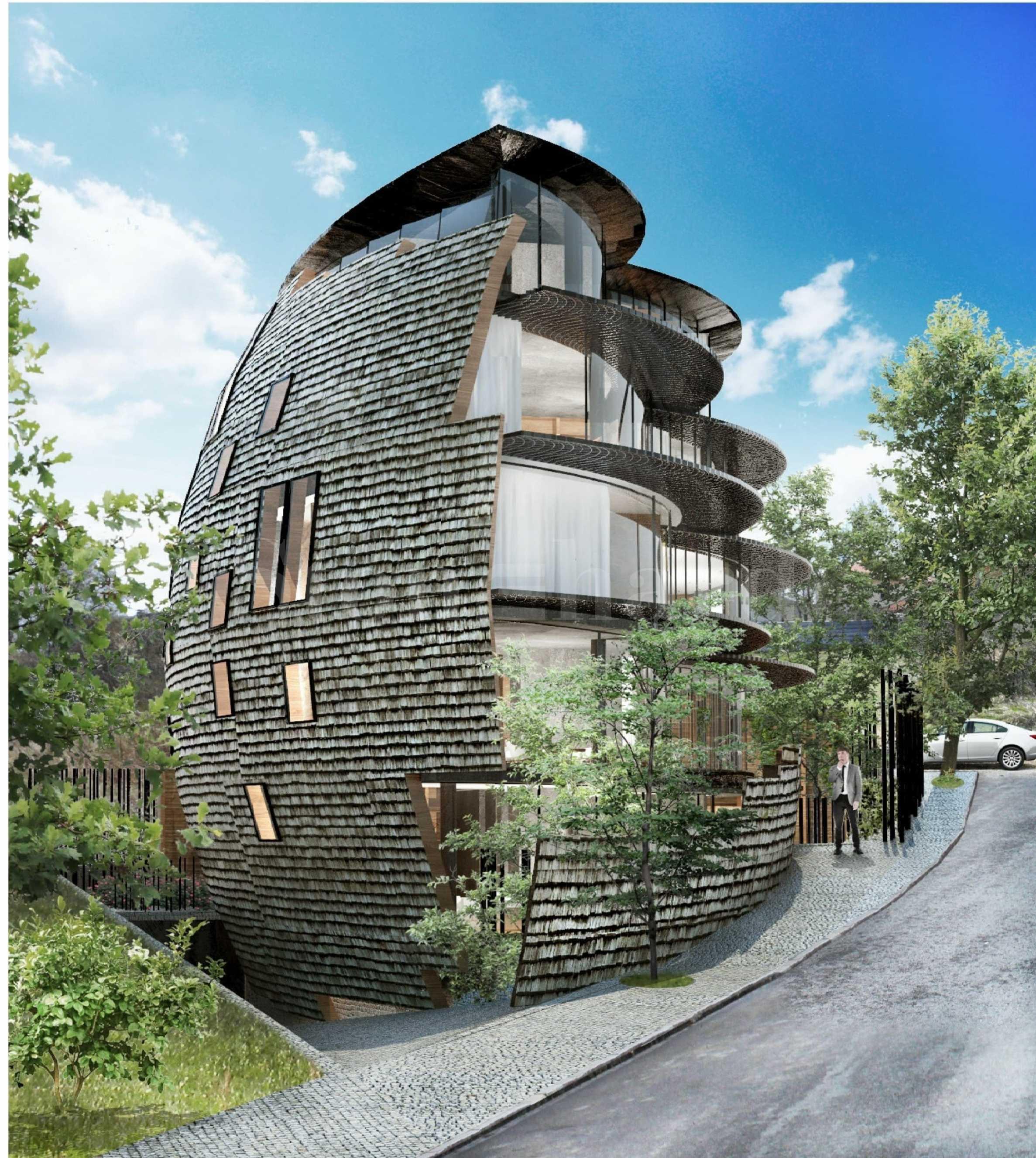 Екологична сграда, енергиен клас А в полите на Витоша1 - Stonehard