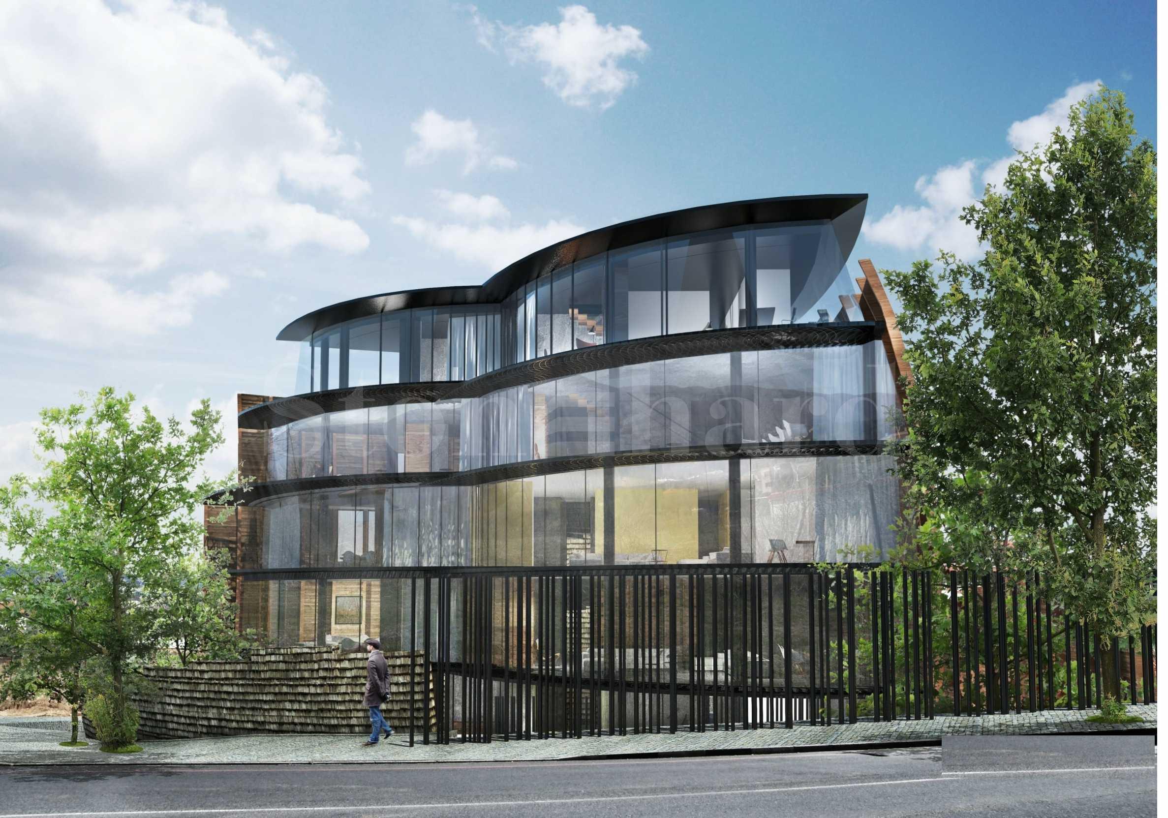 Екологична сграда, енергиен клас А в полите на Витоша2 - Stonehard