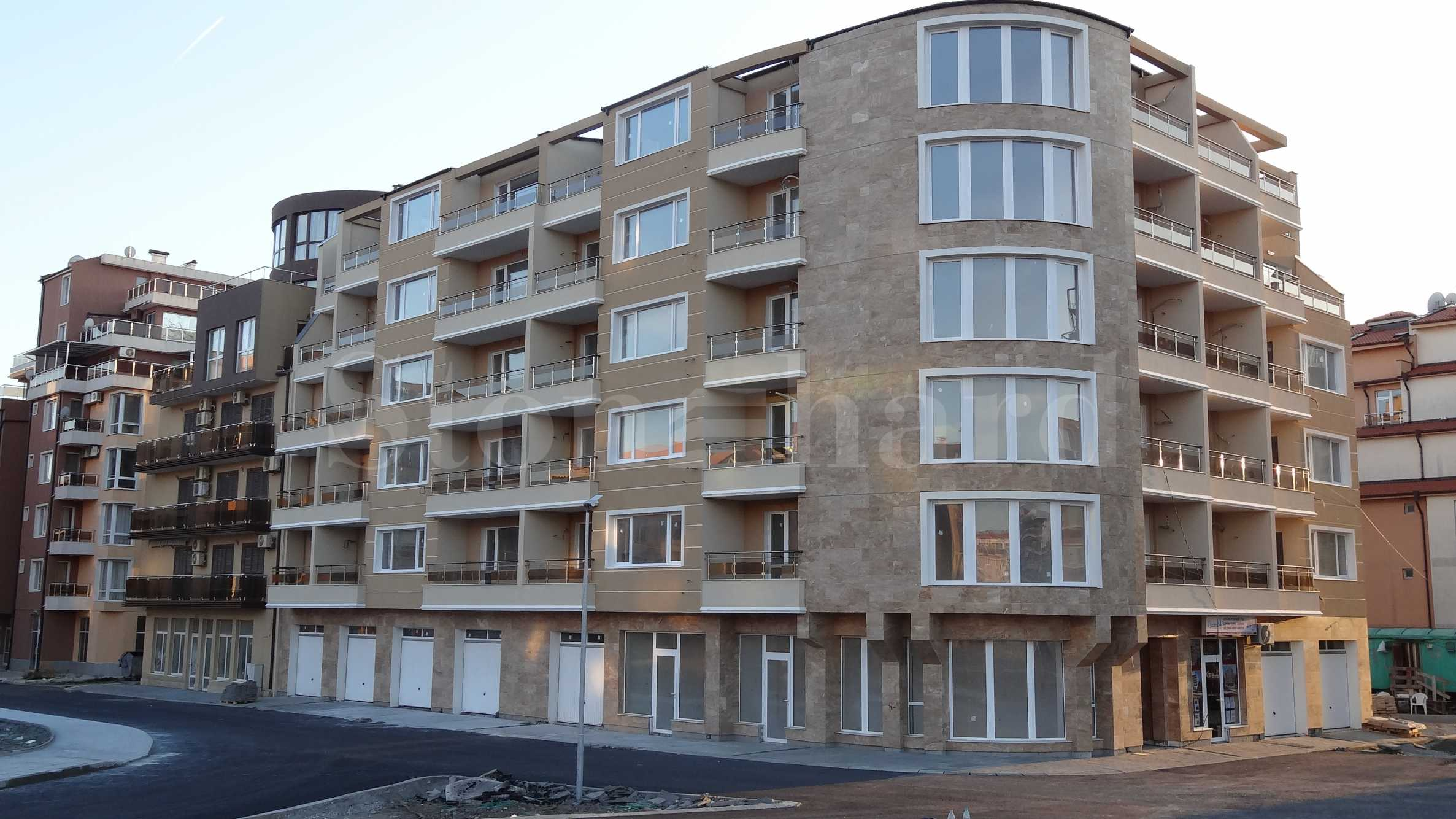 Apartments in an elite newly built building in the Old town of Pomorie 2 - Stonehard
