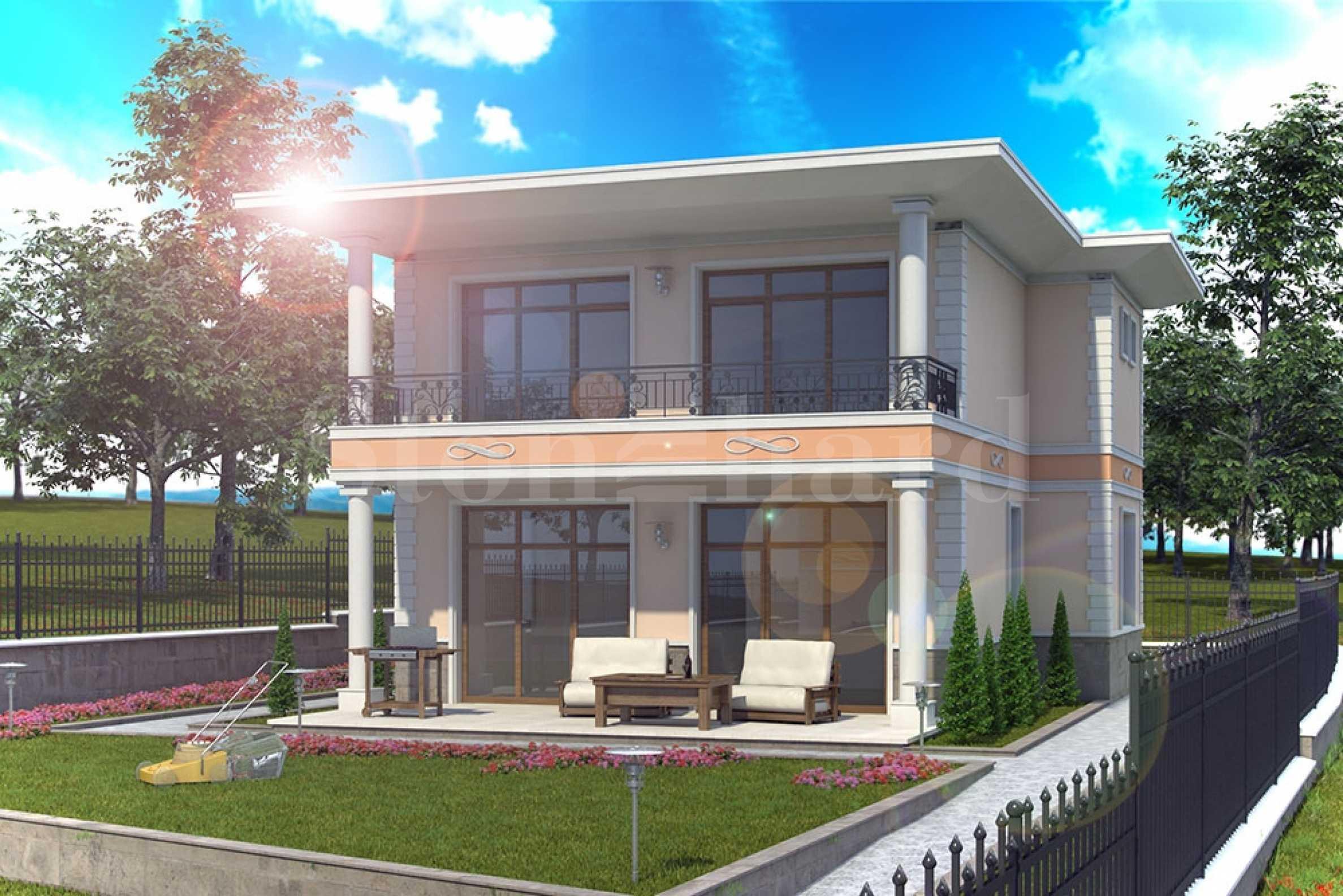 Извънградски къщи с градини и паркоместа, с гледка към Бургаския залив2 - Stonehard