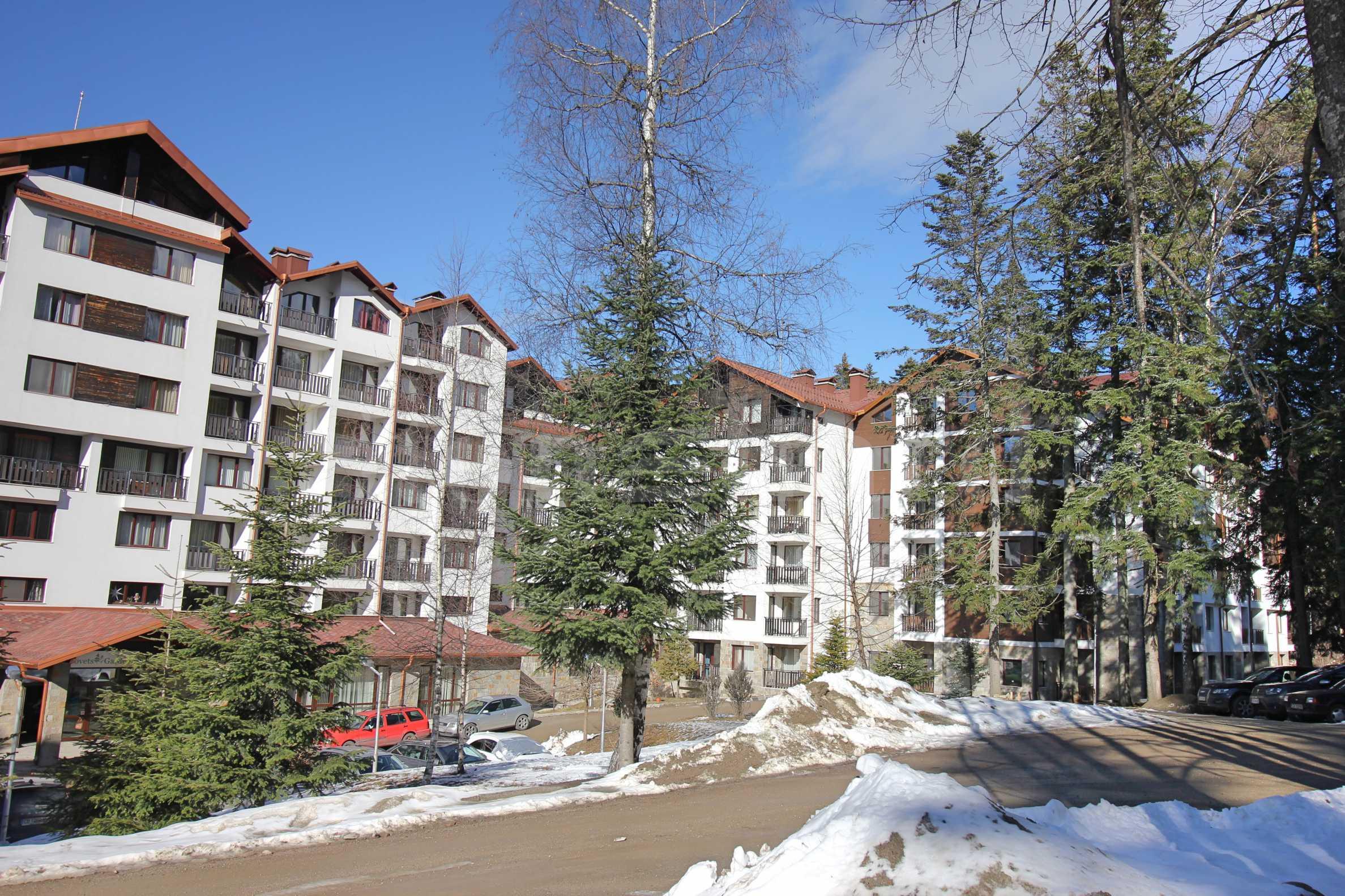 Боровец Гардънс 2 - aпартаменти в новостроящата се втора фаза на комплекса. 2 - Stonehard