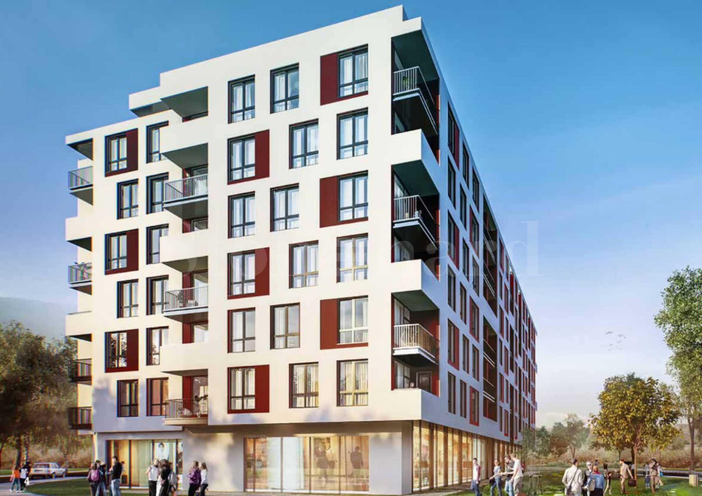 Нова сграда с модерна визия в кв.