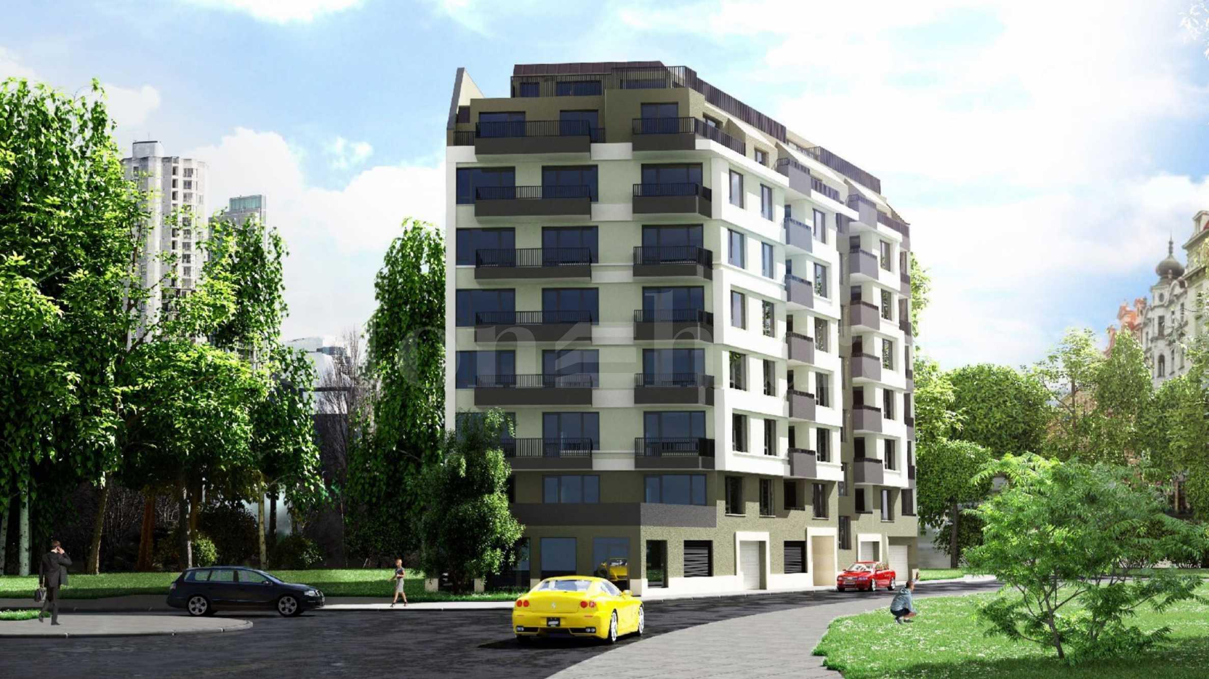 Модерна сграда ново строителство с комуникативна локация в кв.