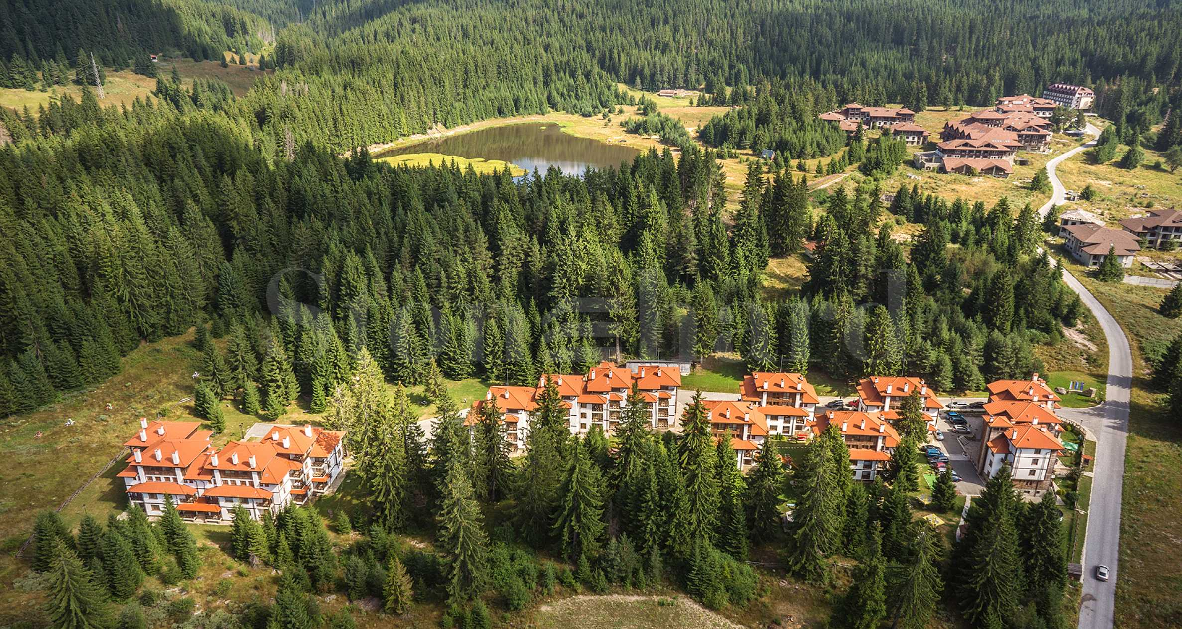 Quality apartments in Mountain Lake operational complex with superb location near Pamporovo1 - Stonehard