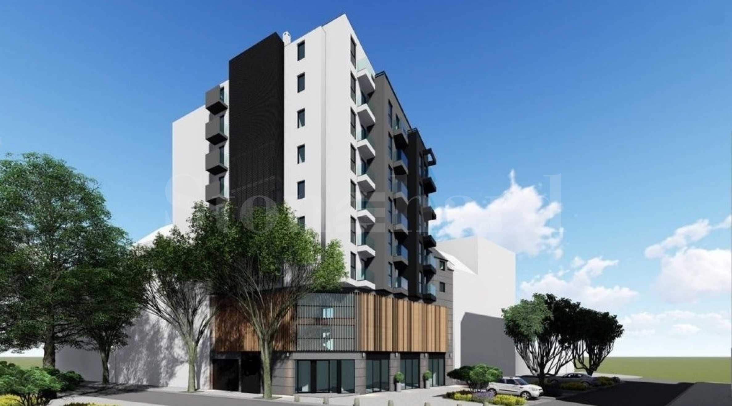 Нов проект на сграда със смесено предназначение и прекрасна централна локация1 - Stonehard