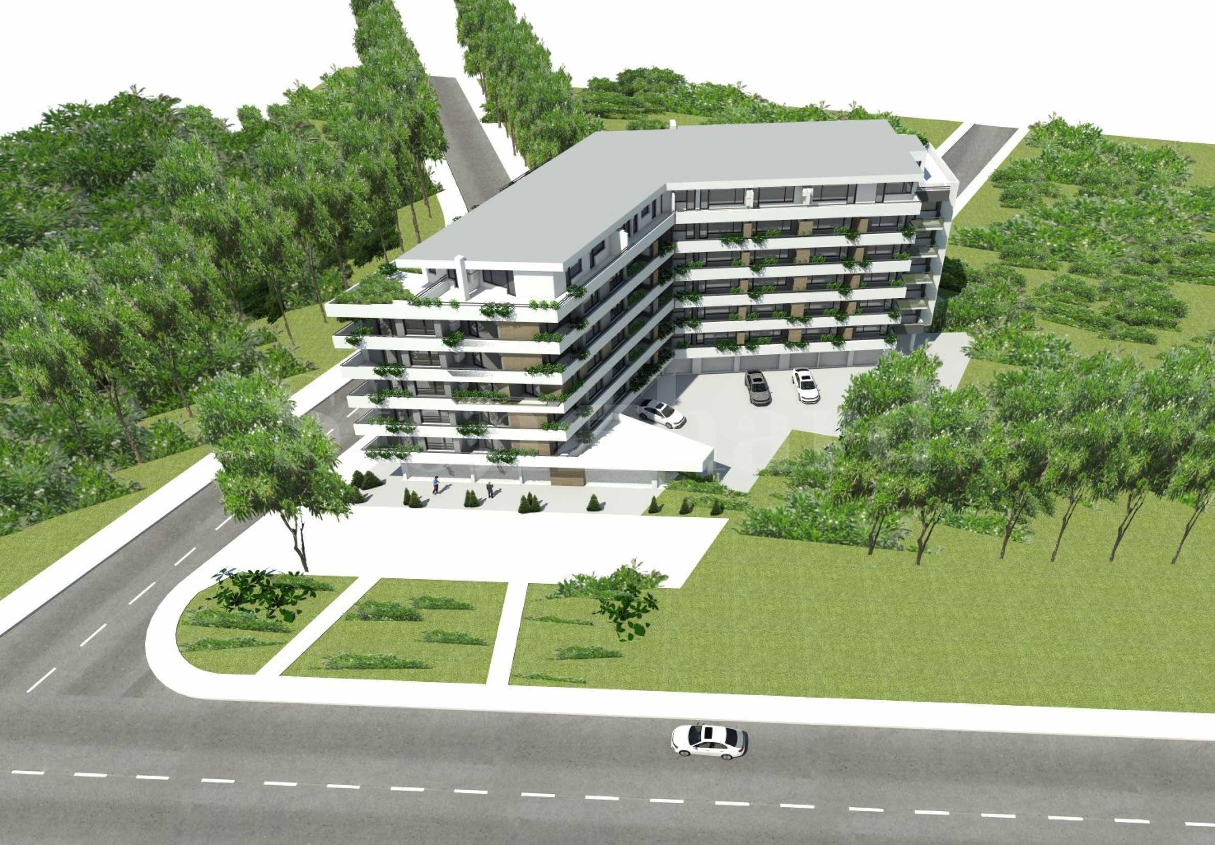 Последни апартаменти в нова сграда в кв.