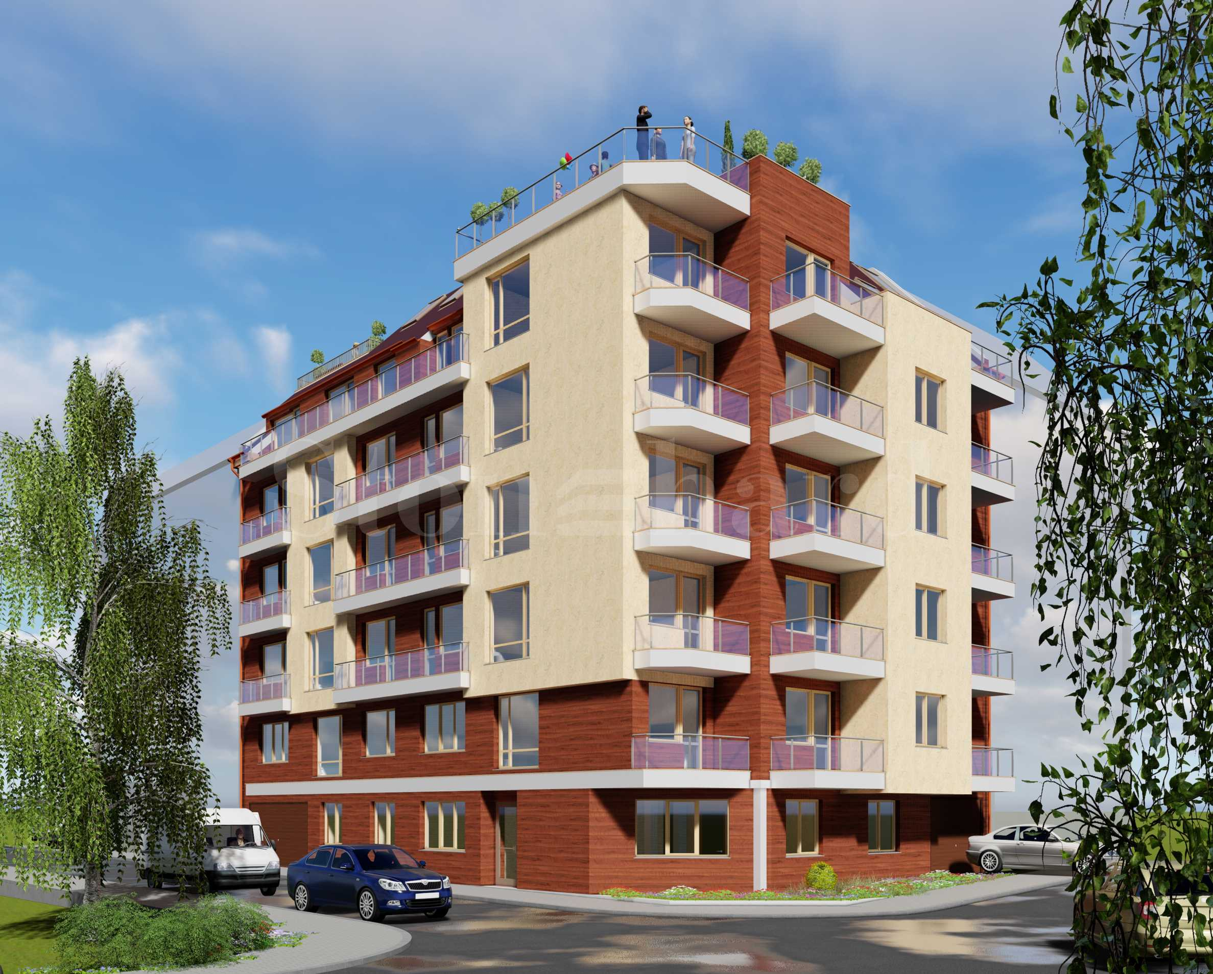 New residential building in Vazrazhdane 1 district in the city of Varna(Bulgaria)1 - Stonehard