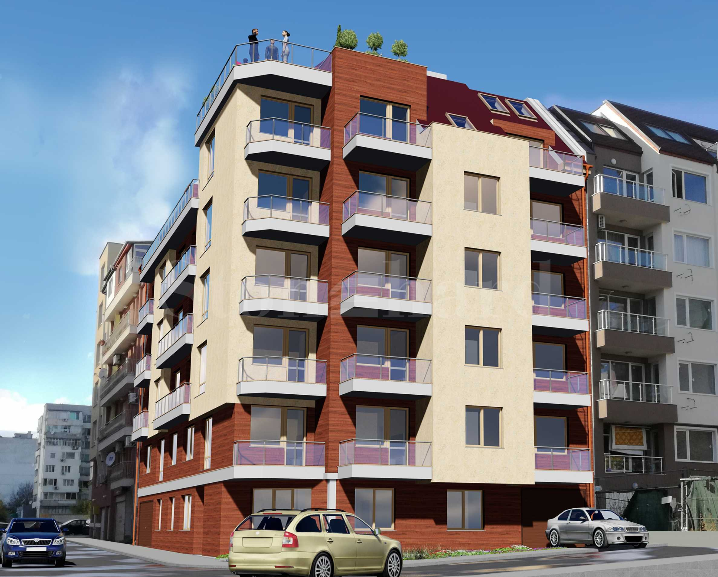 New residential building in Vazrazhdane 1 district in the city of Varna(Bulgaria)2 - Stonehard
